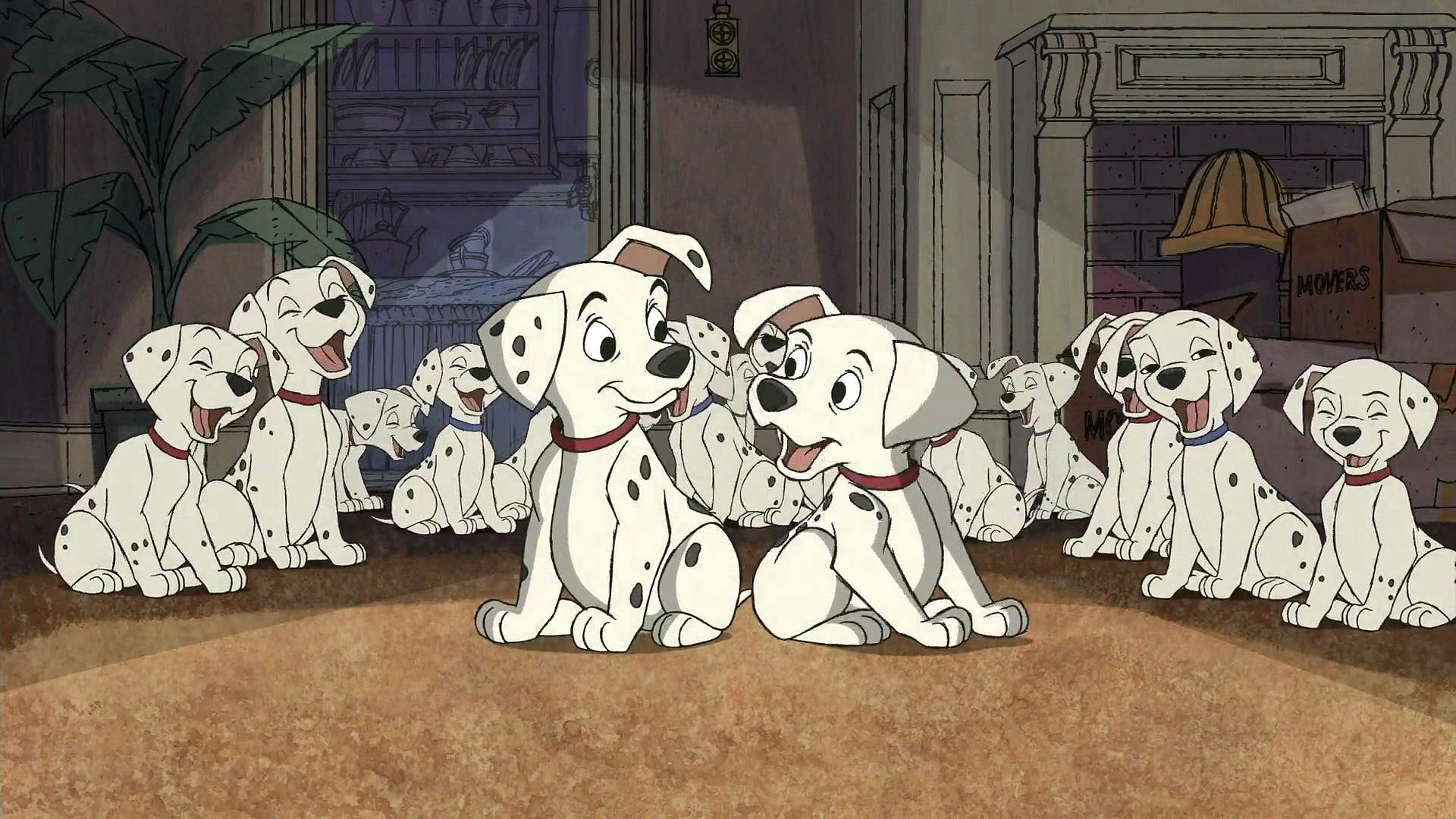 101-DALMATIANS comedy adventure family dog puppy 100 dalmatians disney