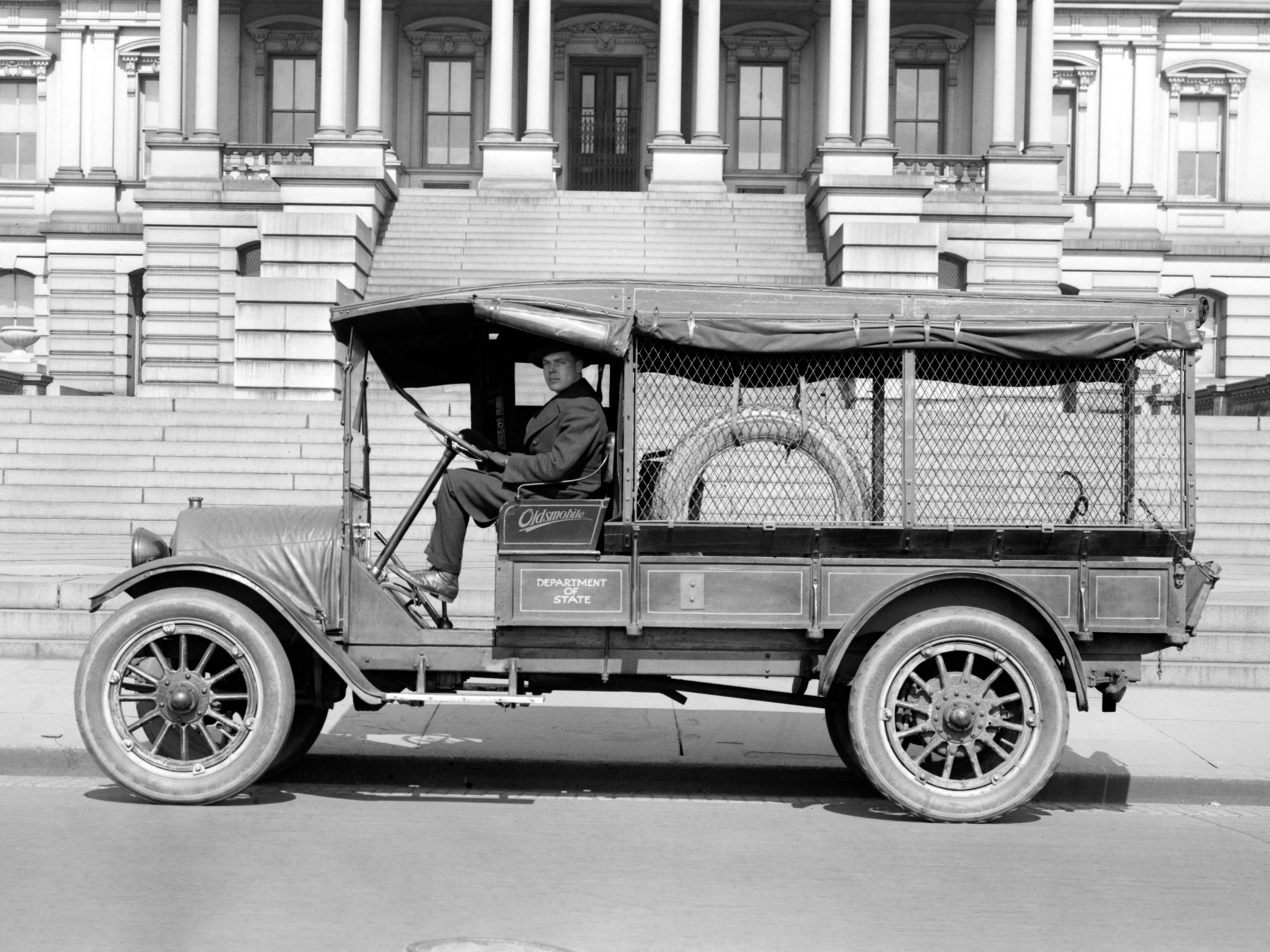 1919 Oldsmobile Model-T Economy Truck retro    g