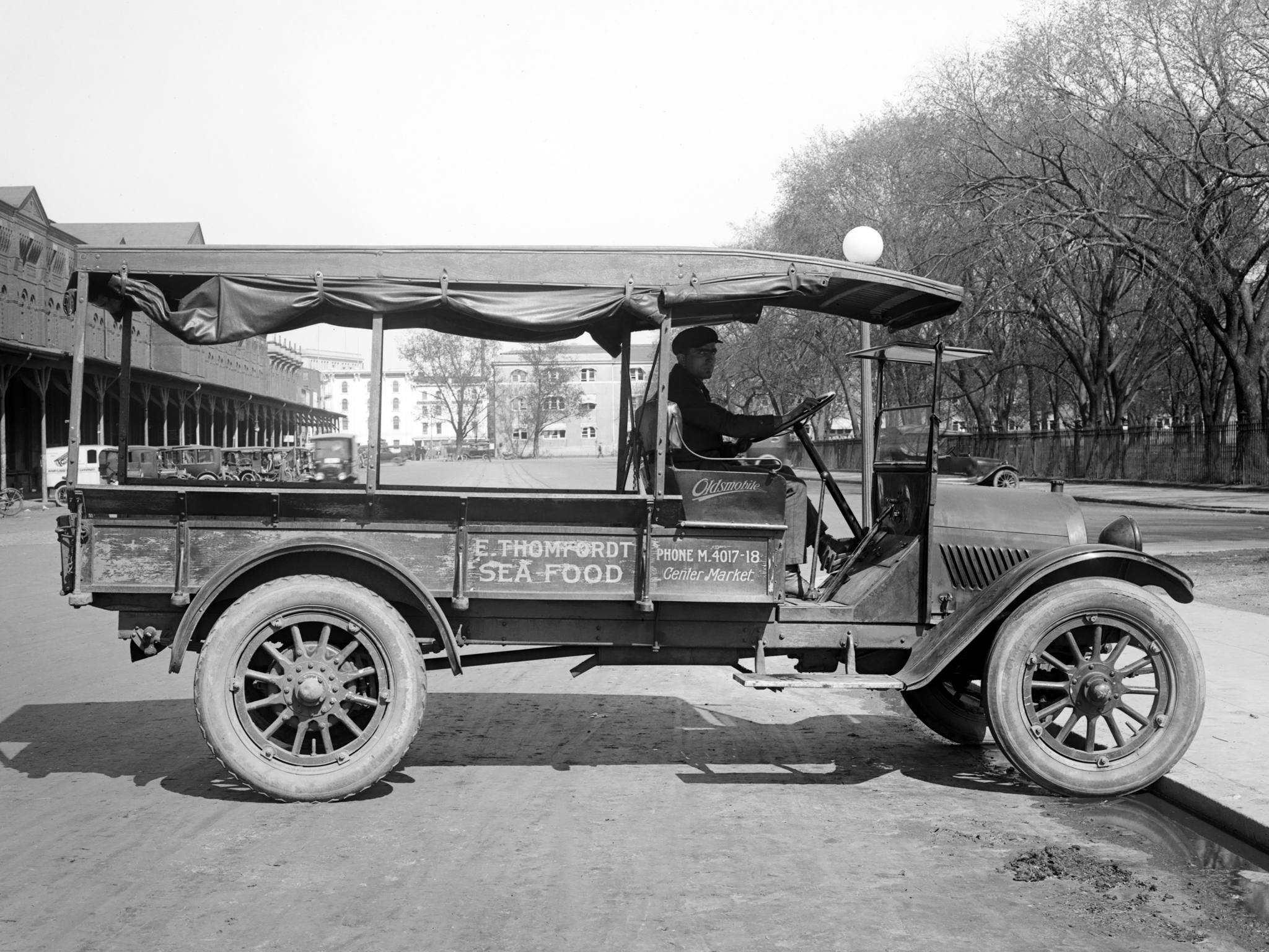 1919 Oldsmobile Model-T Economy Truck retro