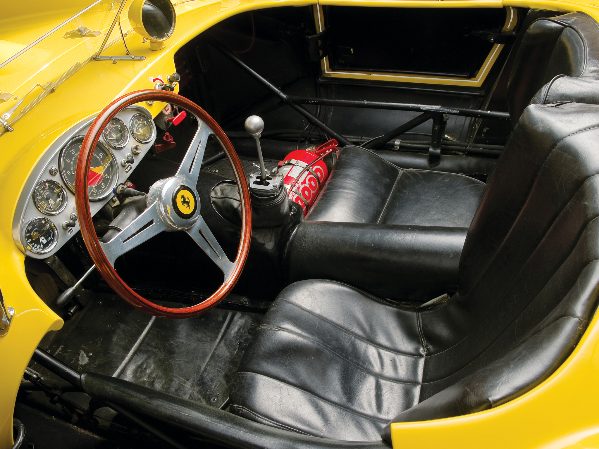 1957 Ferrari 250 Testa Rossa Scaglietti Spyder supercar retro race racing interior engine t