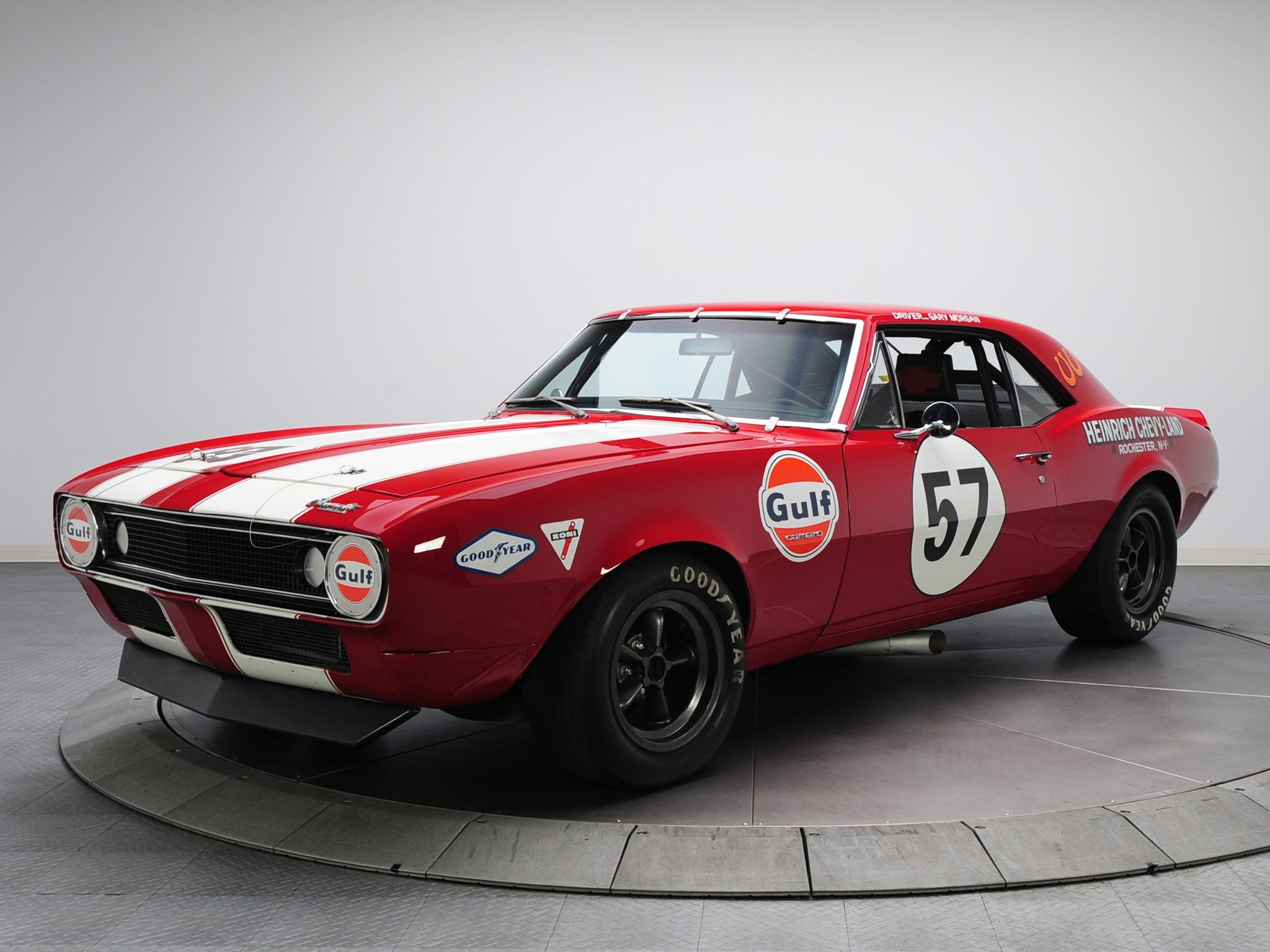 1967 Chevrolet Camaro Z-28 Pre-production Trans-Am Race Car racing muscle classic hot rod rods  h