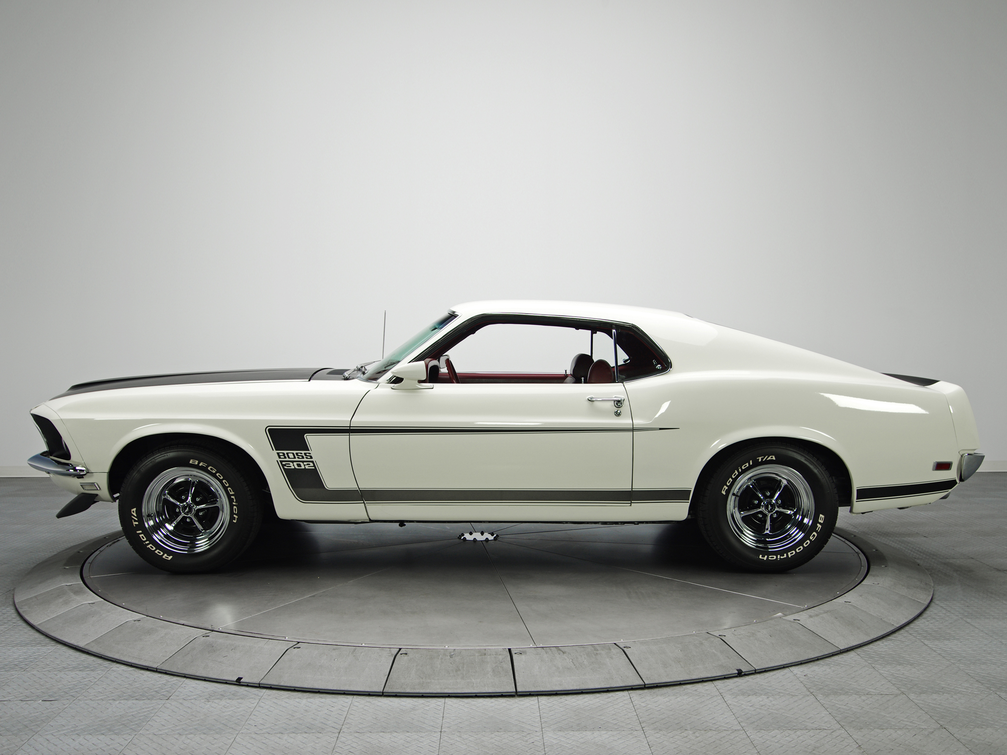 1969 Ford Mustang Boss 302 muscle classic  hd