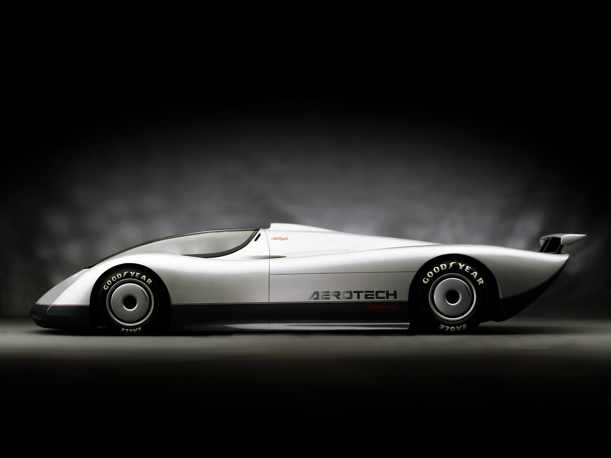 1987 Oldsmobile Aerotech I Long Tail Concept supercar supercars classic