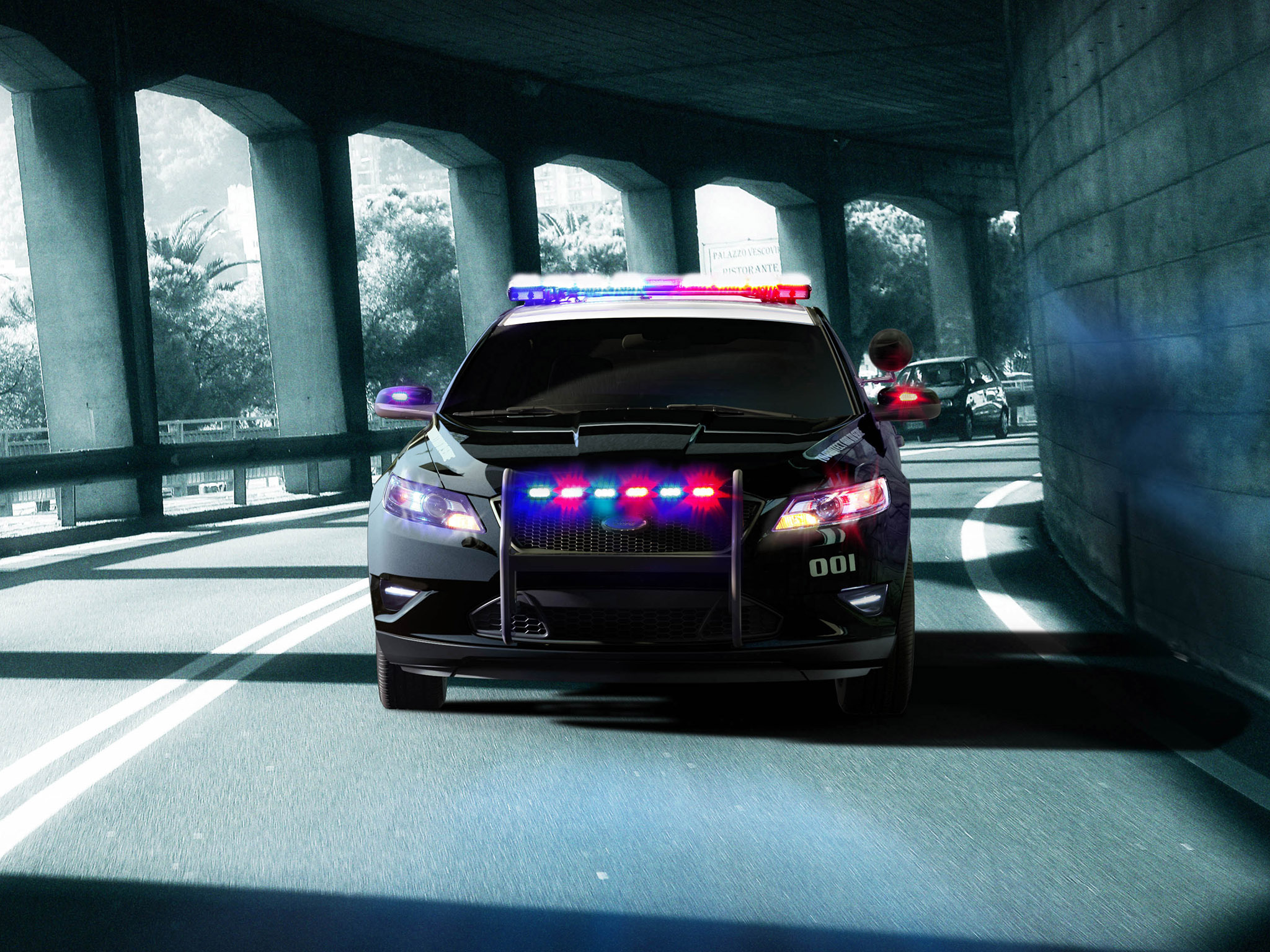 2012 Ford Interceptor Police Concept muscle    d