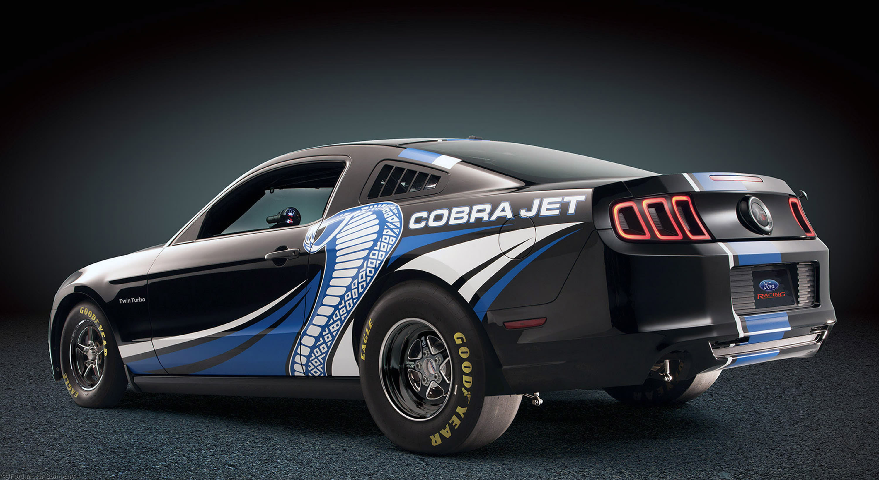 2013 Ford Mustang Cobra Jet Twin-Turbo Concept race racing hot rod rods muscle s