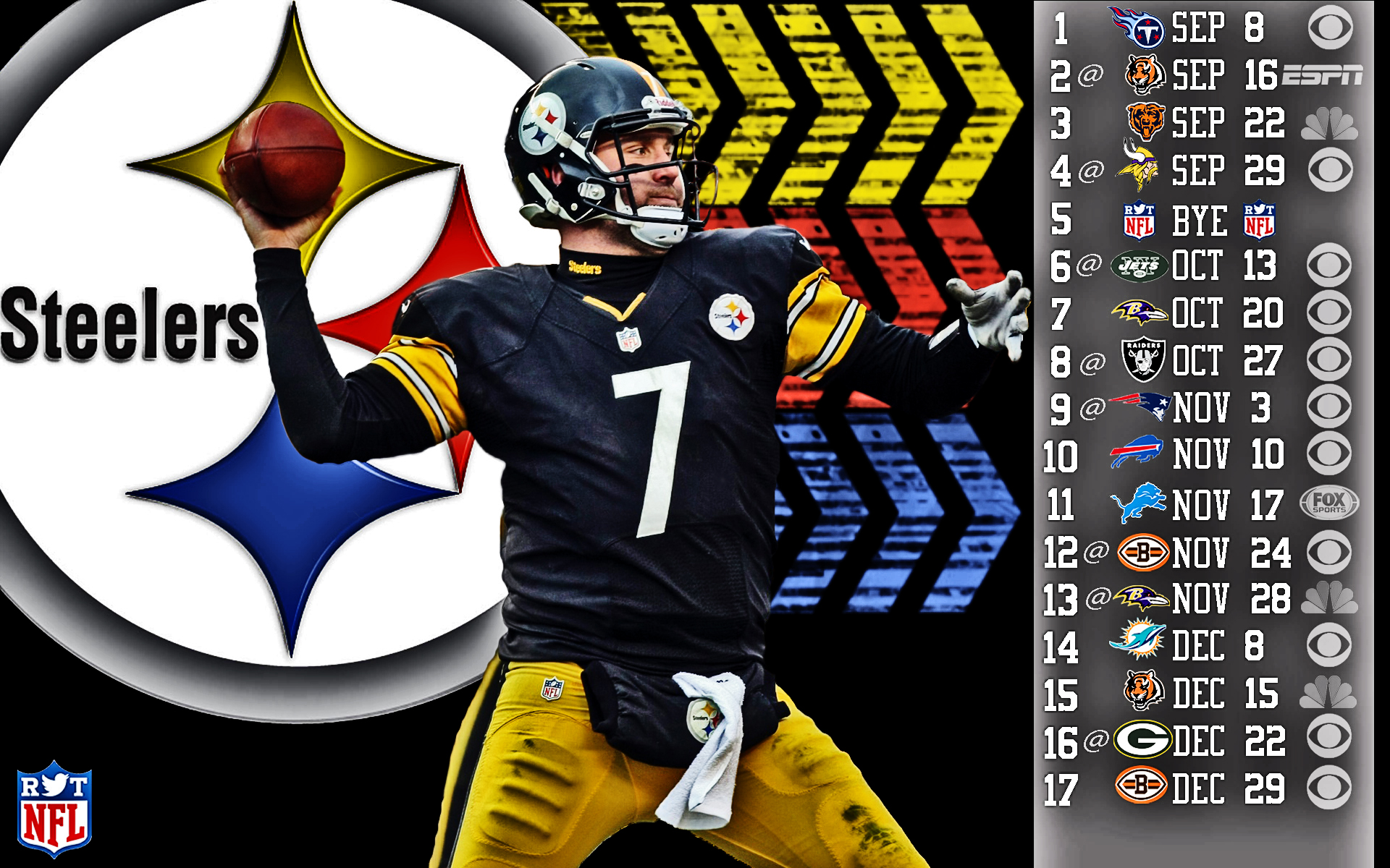 2013 Pittsburgh Steelers football nfl