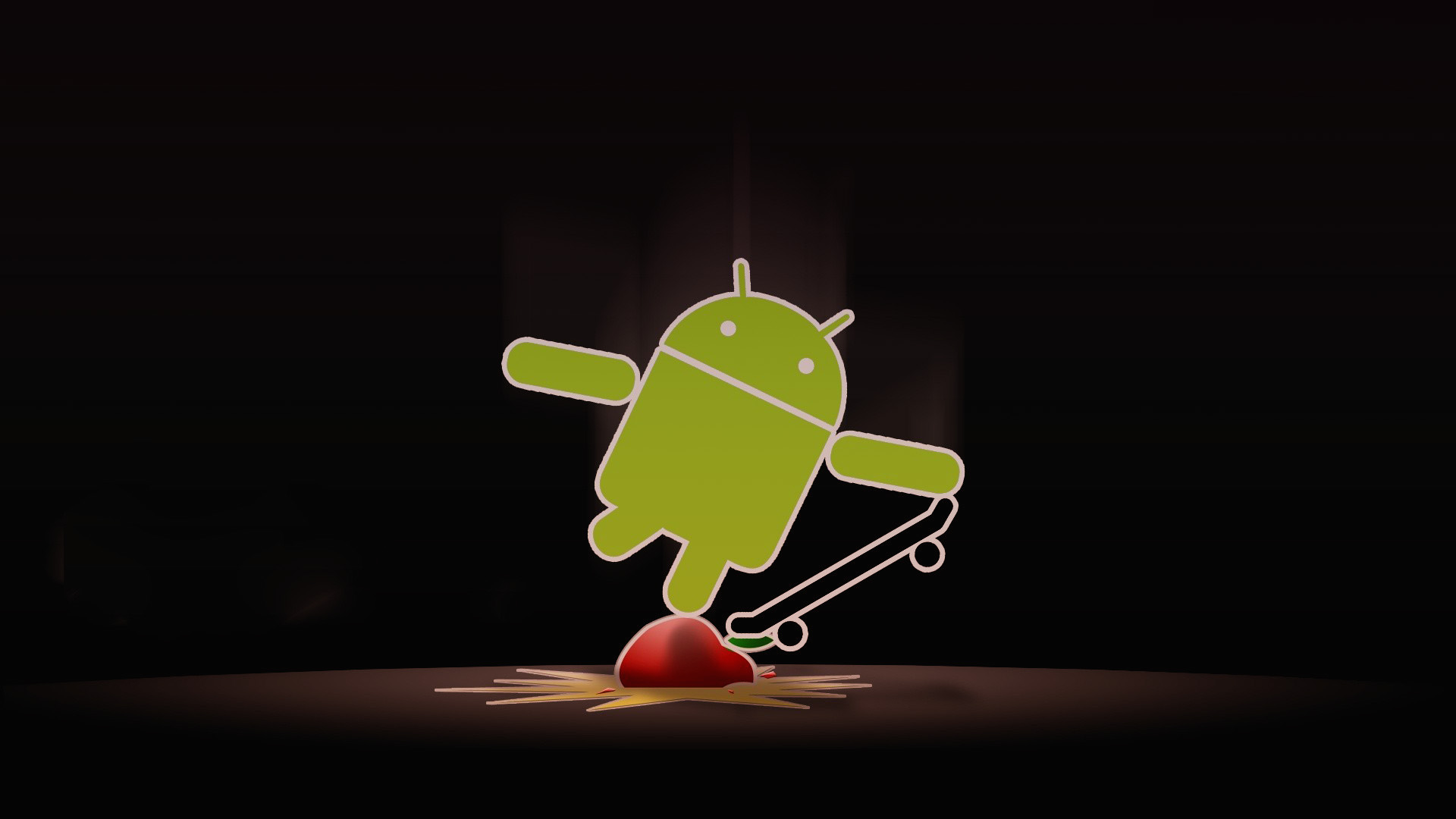 abstract Android Apple