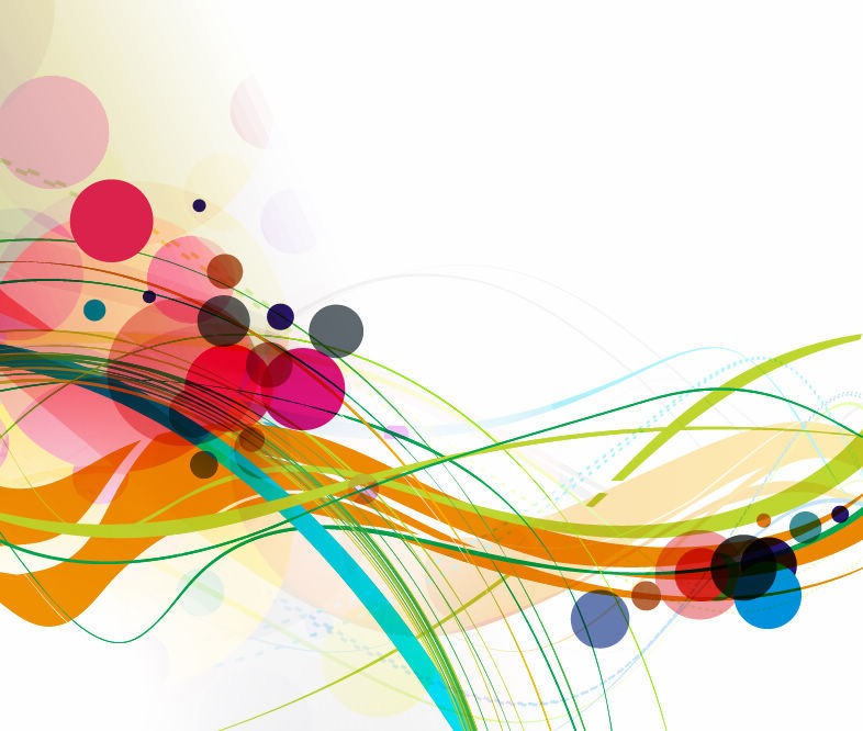 Abstract art colorful colors design illustration light theme
