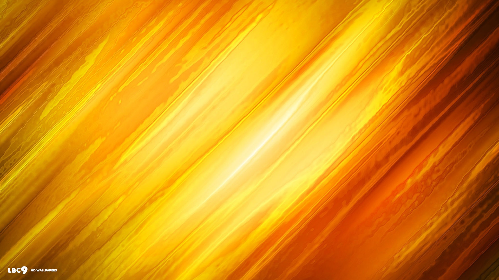 abstract orange digital art