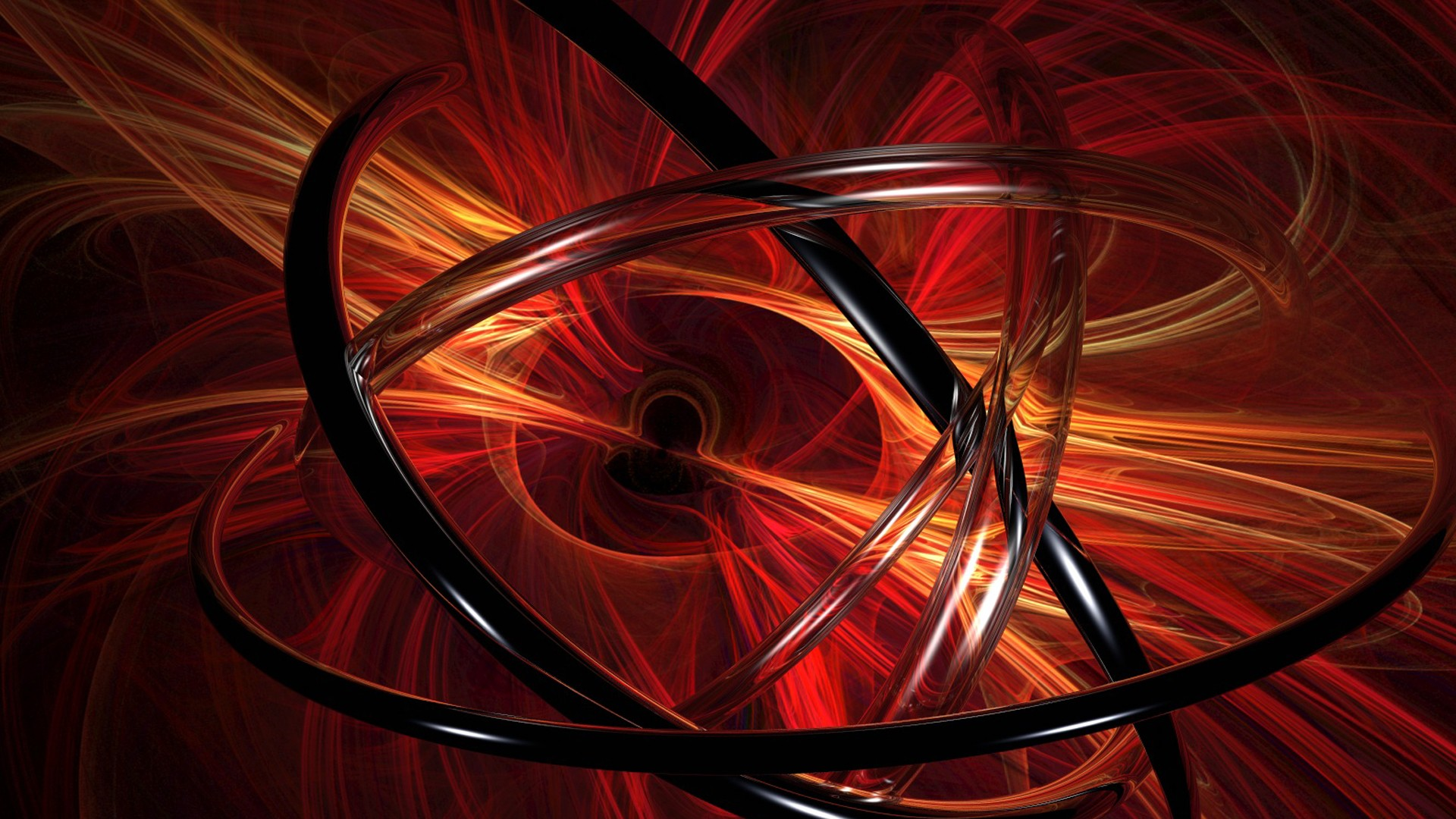 abstract red 3D renders graphics vector art