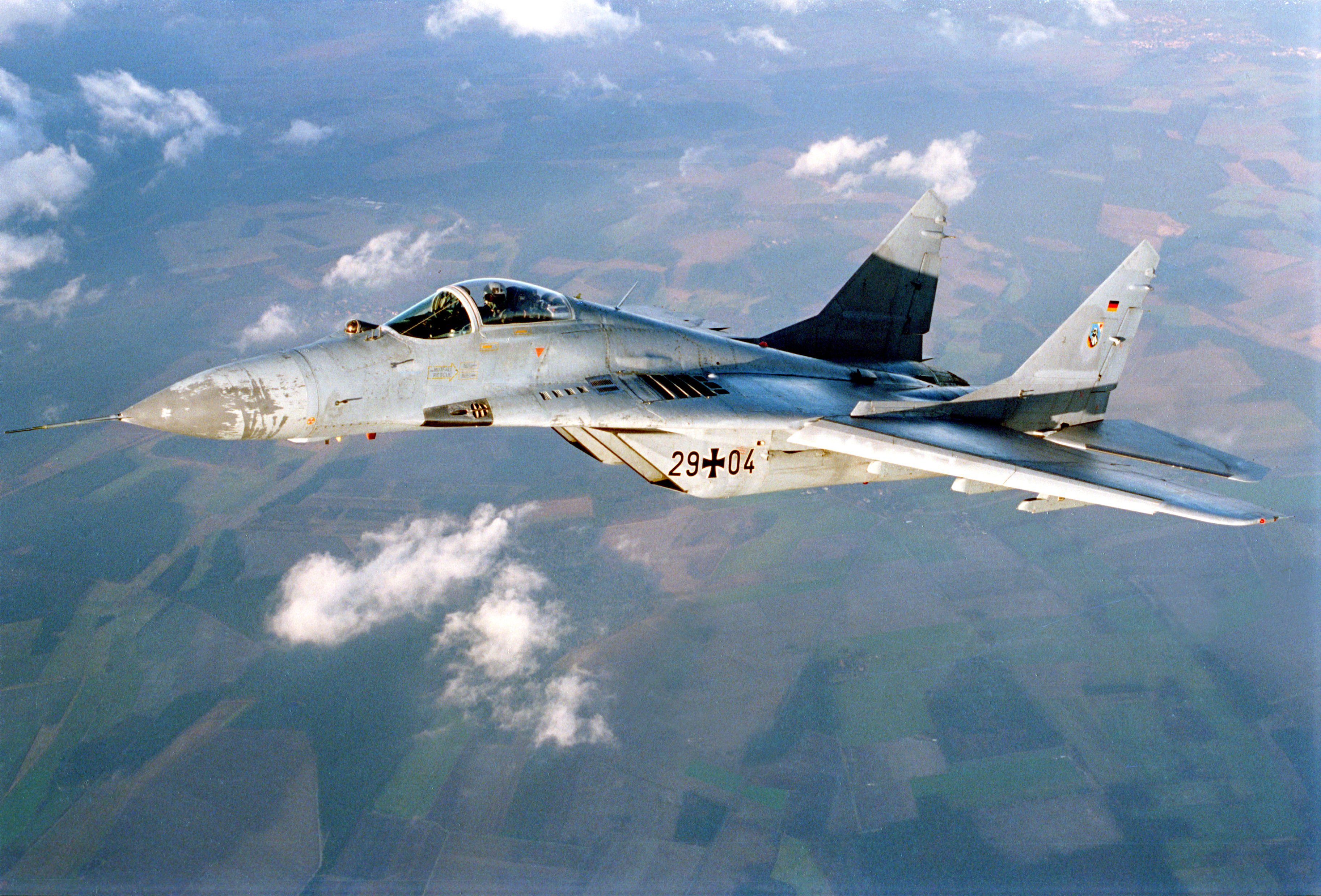 airplane Fighter jet mig Military plane russian