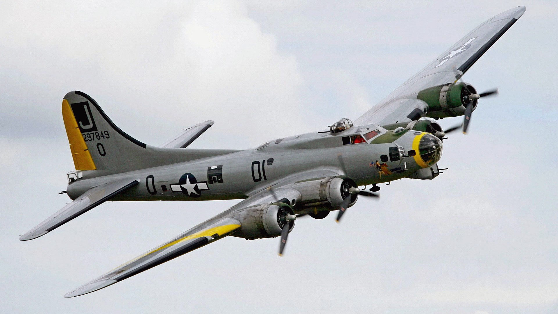 airplanes Bomber B-17 Flying Fortress