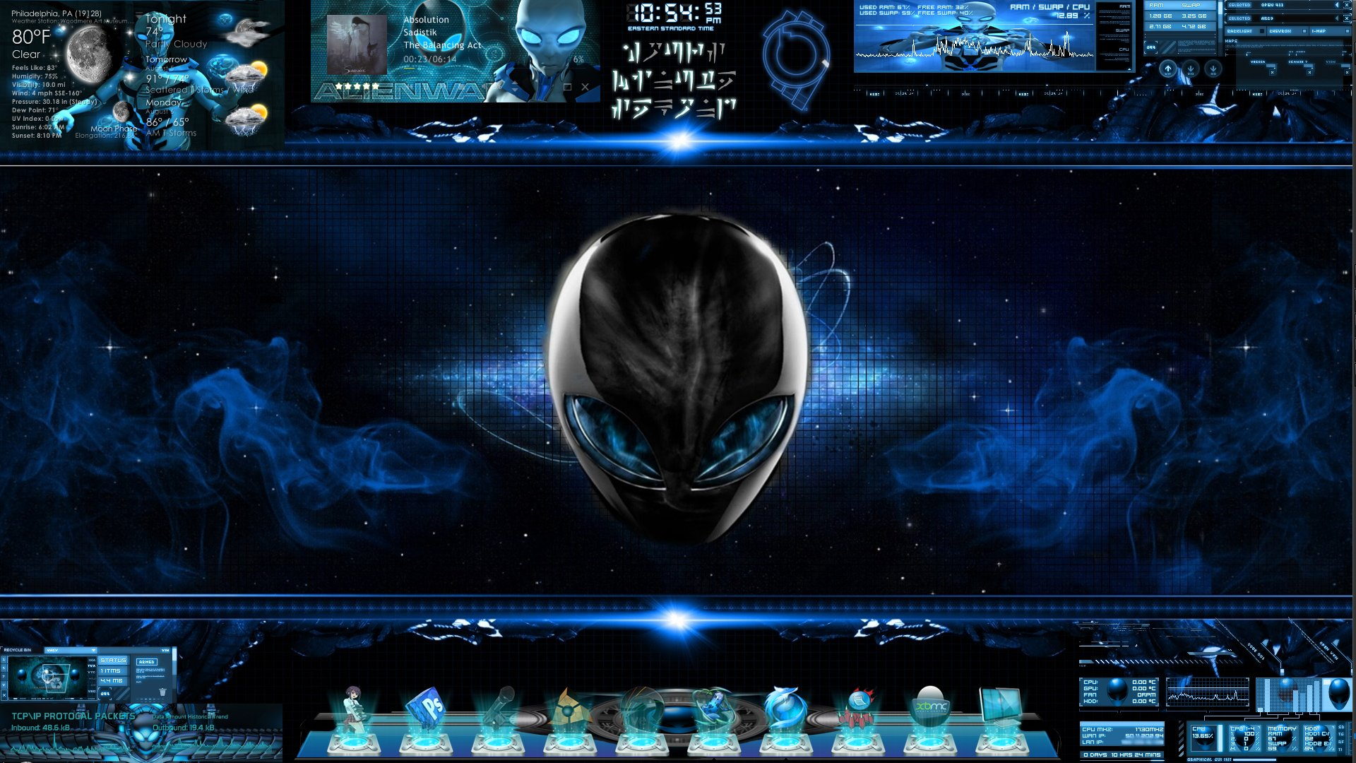 ALIENWARE DESKTOP gaming computer videogame game (1)