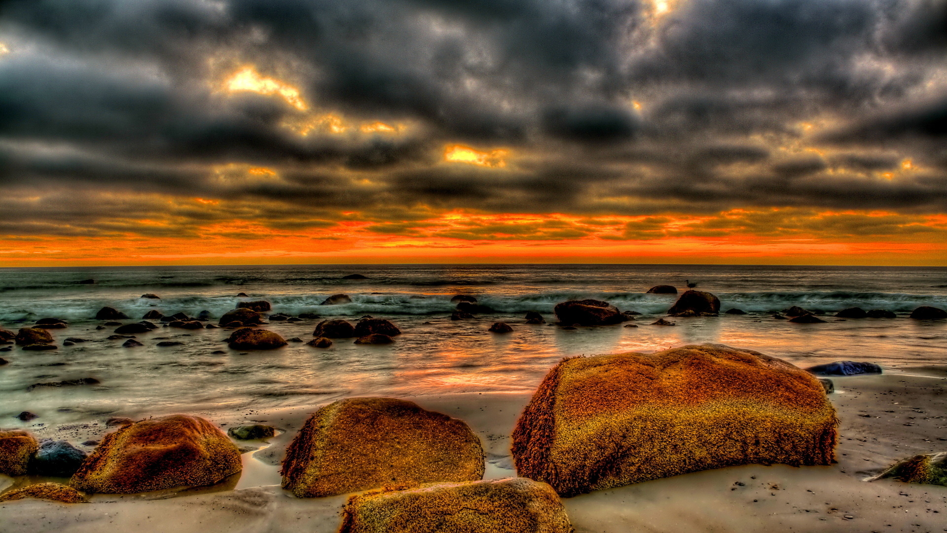 Amazing HDR Beach