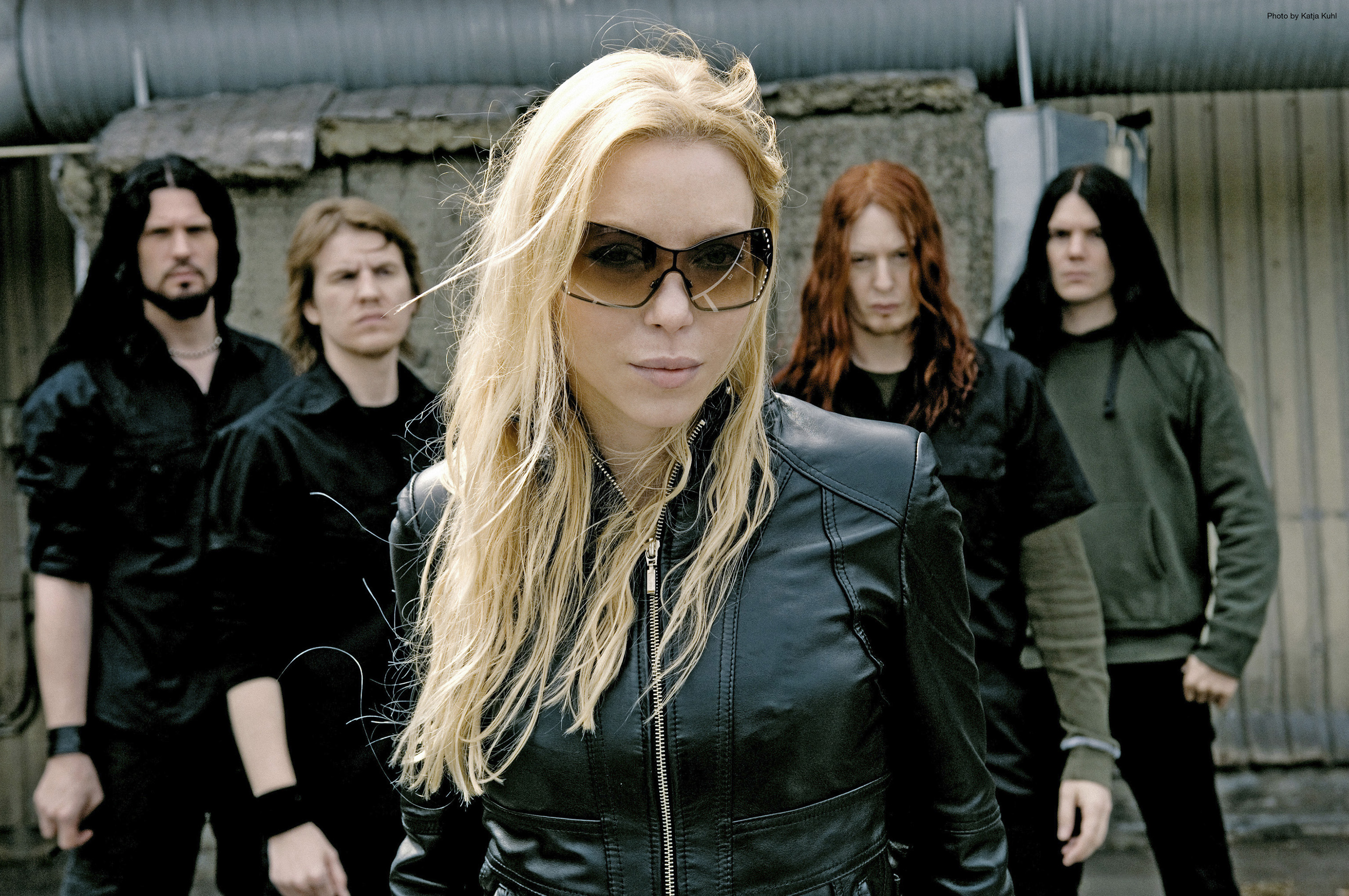 arch enemy groups bands heavy metal death hard rock music entertainment Angela Gossow blondes people
