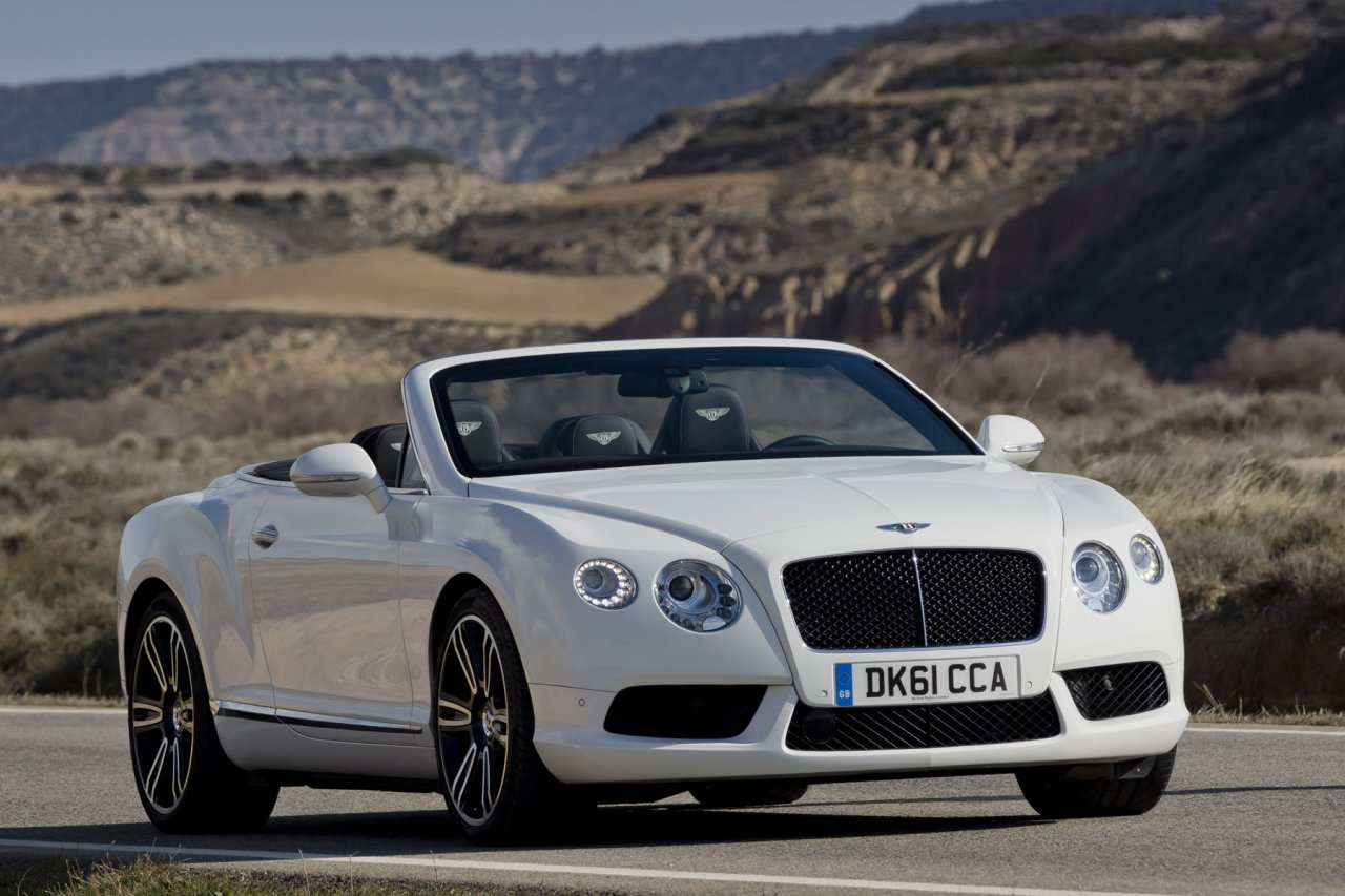 Bentley Continental Supersports Convertible on white