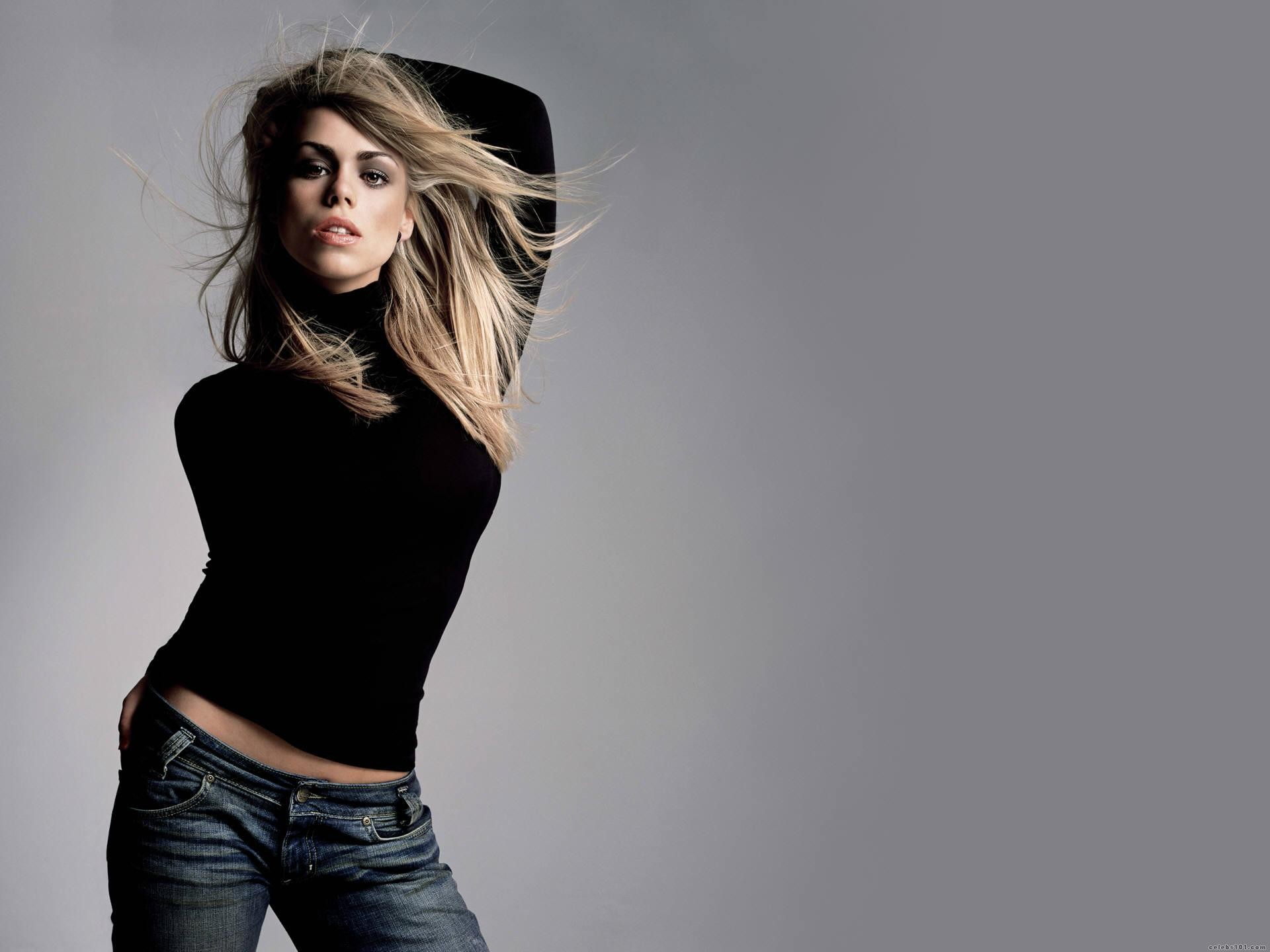 Billie Piper actress musician singer blondes women females girls sexy babes face eyes cleavage cities buildings rivers