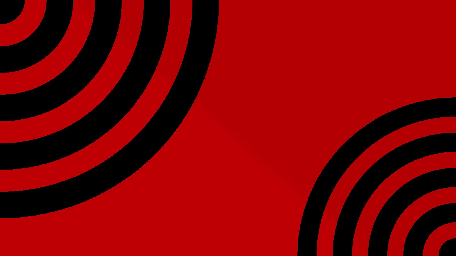 black red waves circles psychedelic simple background red background