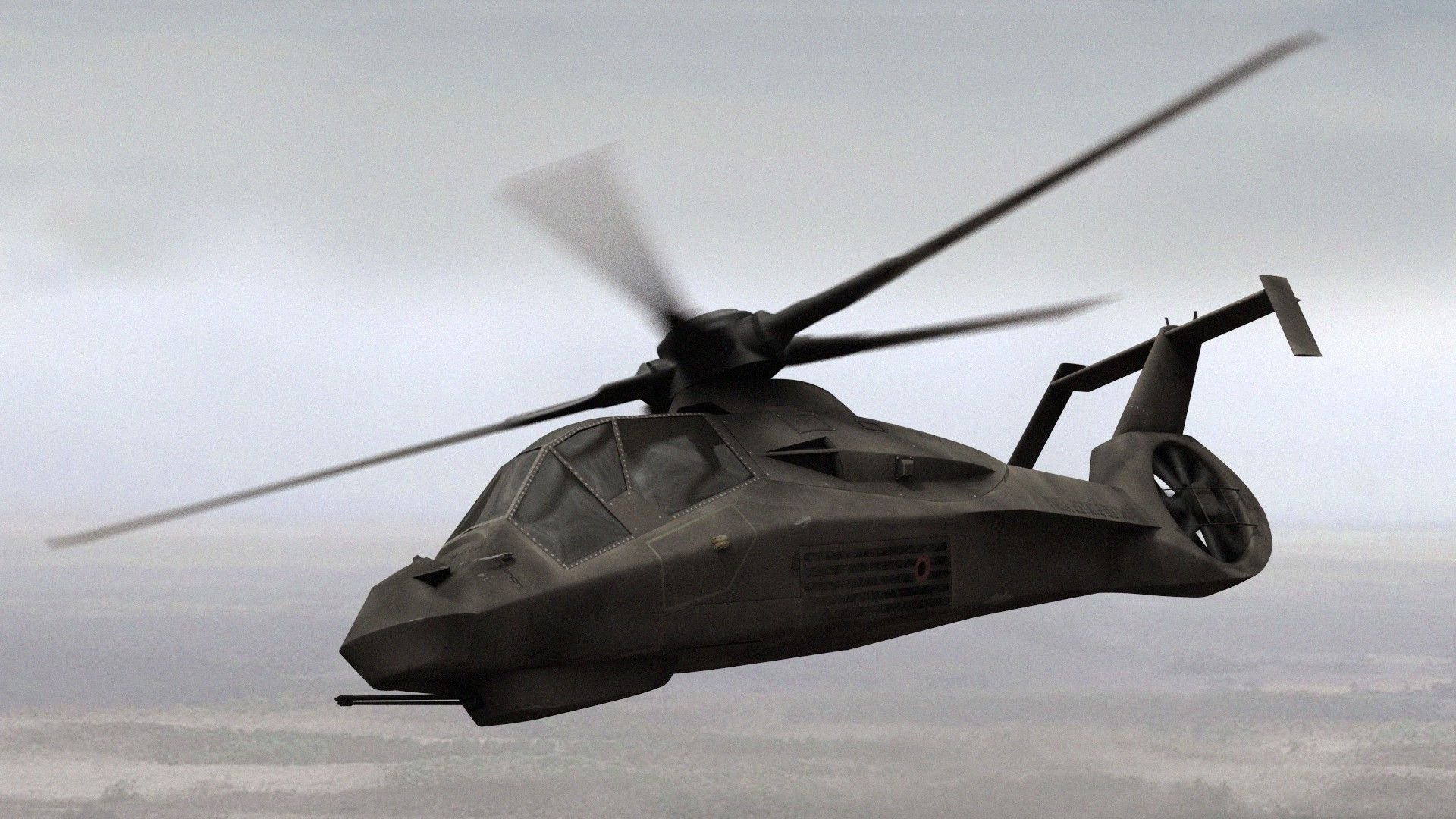 Boeing-Sikorsky RAH-66 Comanche helicopter