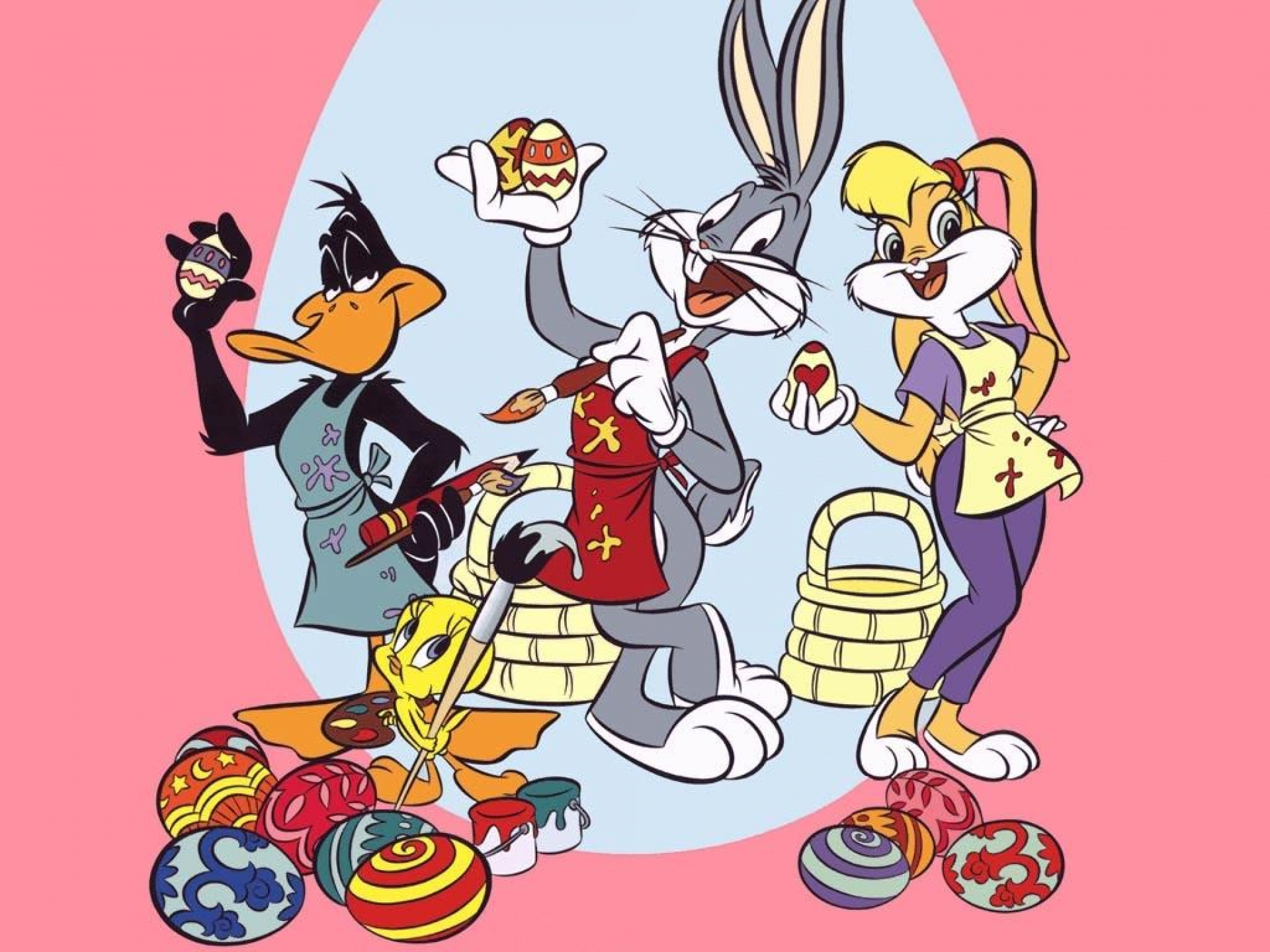BUGS BUNNY looney tunes easter  g