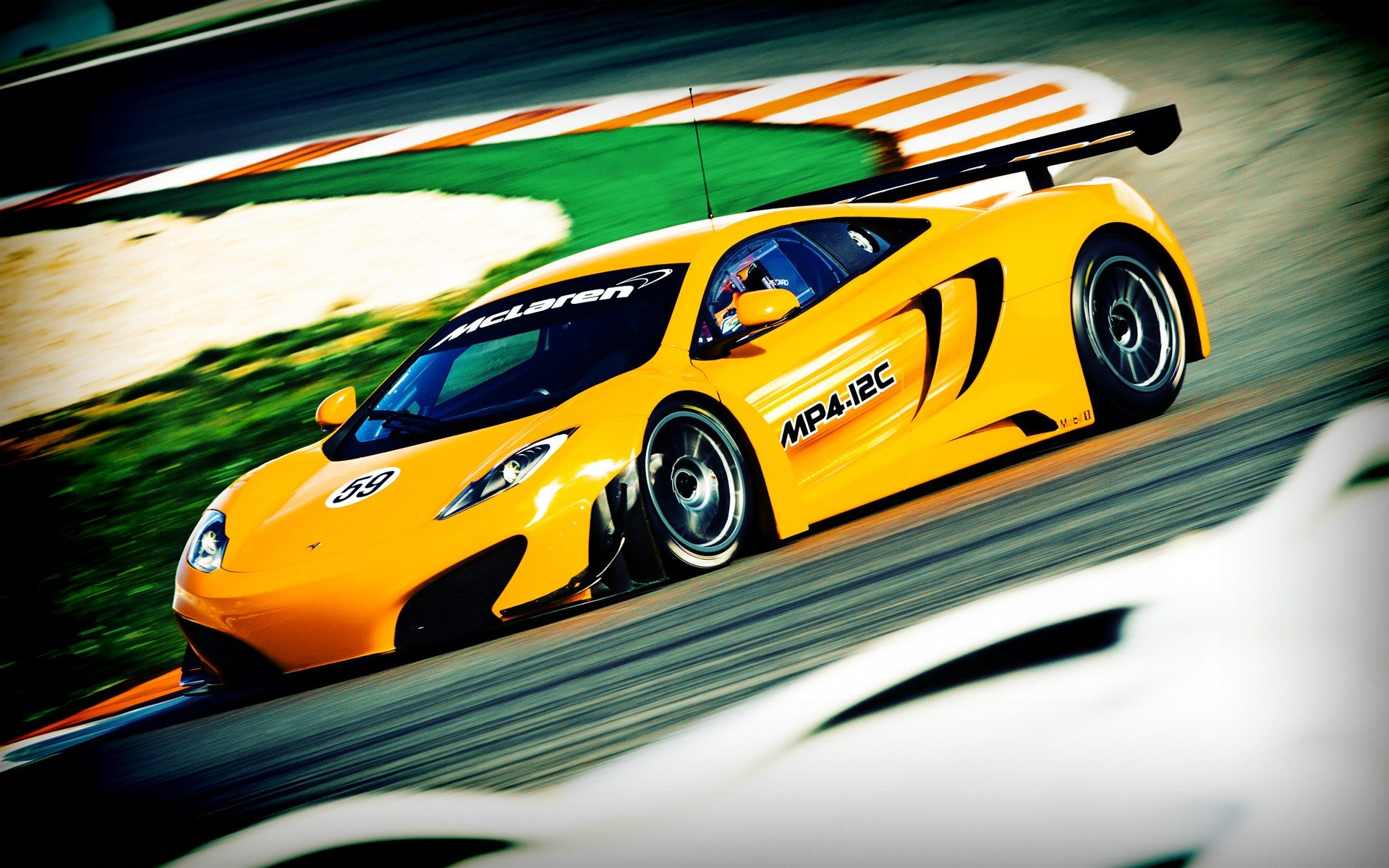 cars Le Mans supercars racing McLaren MP4-12C