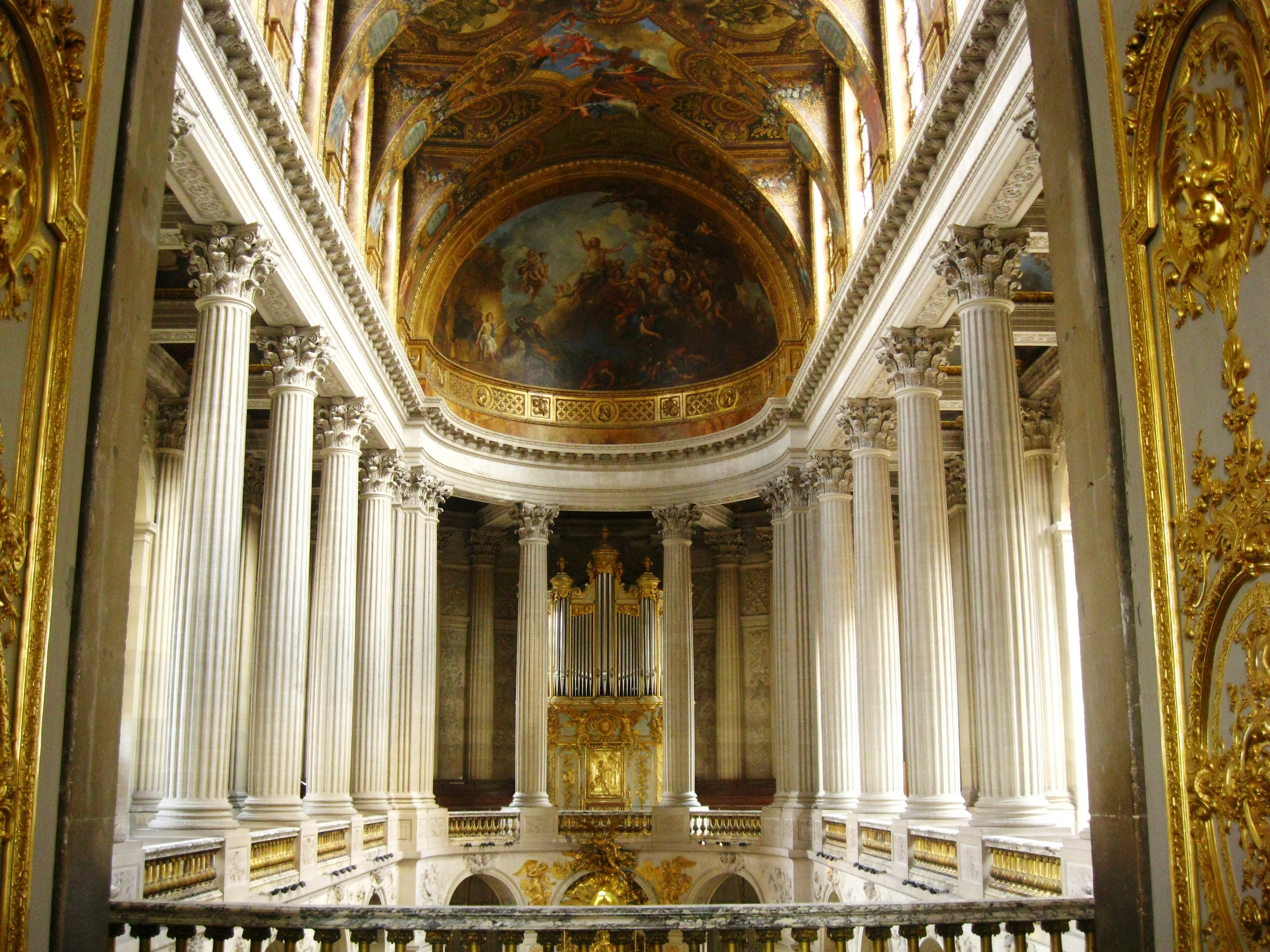 CHATEAU de VERSAILLES palace france french building design room
