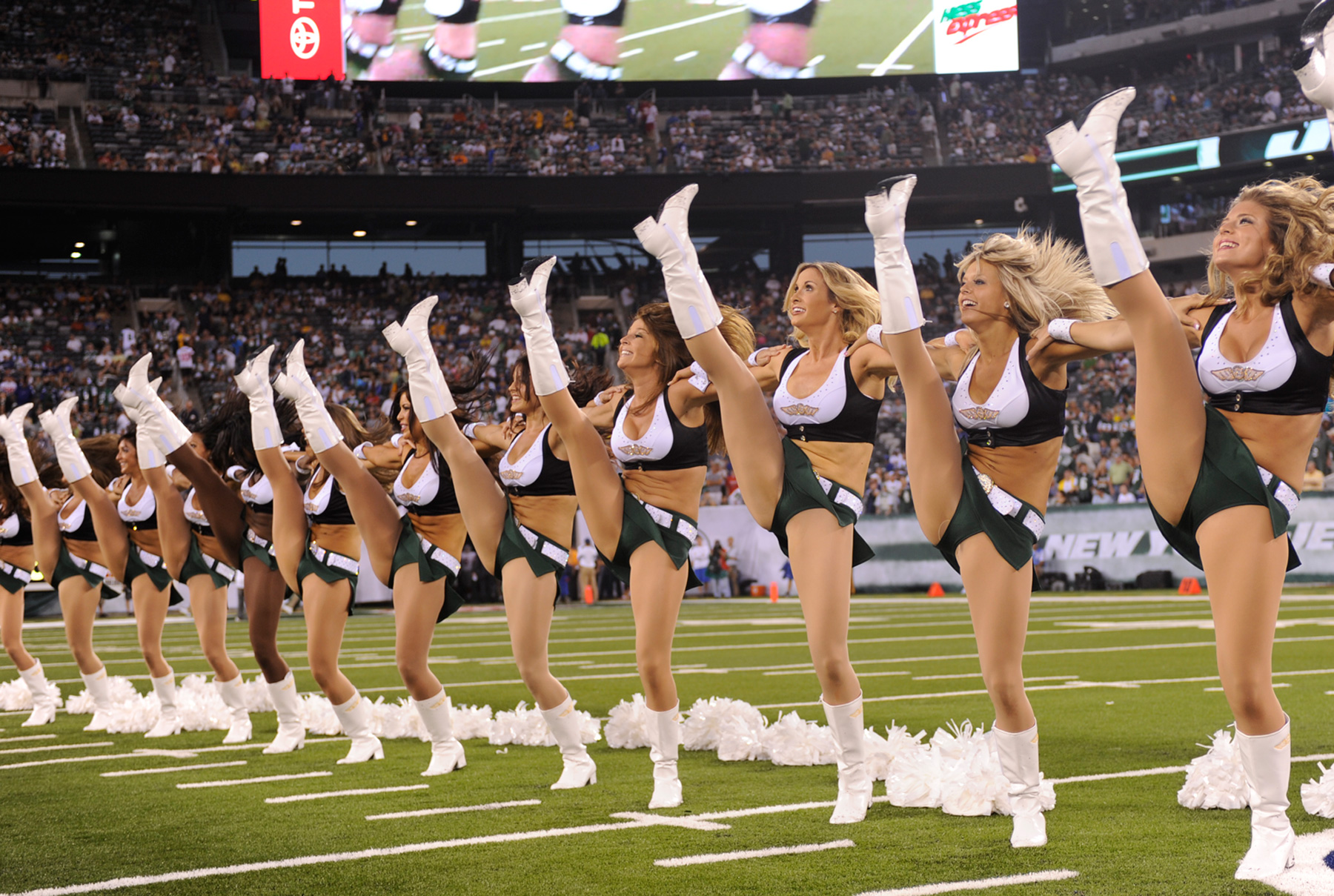cheerleader nfl football new york jets        f