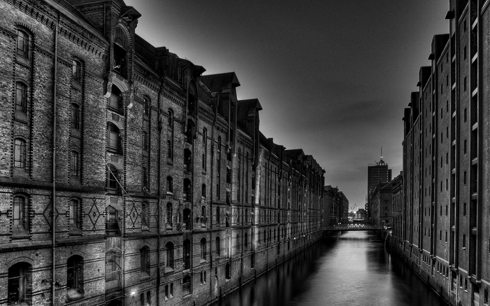 City street over the canal