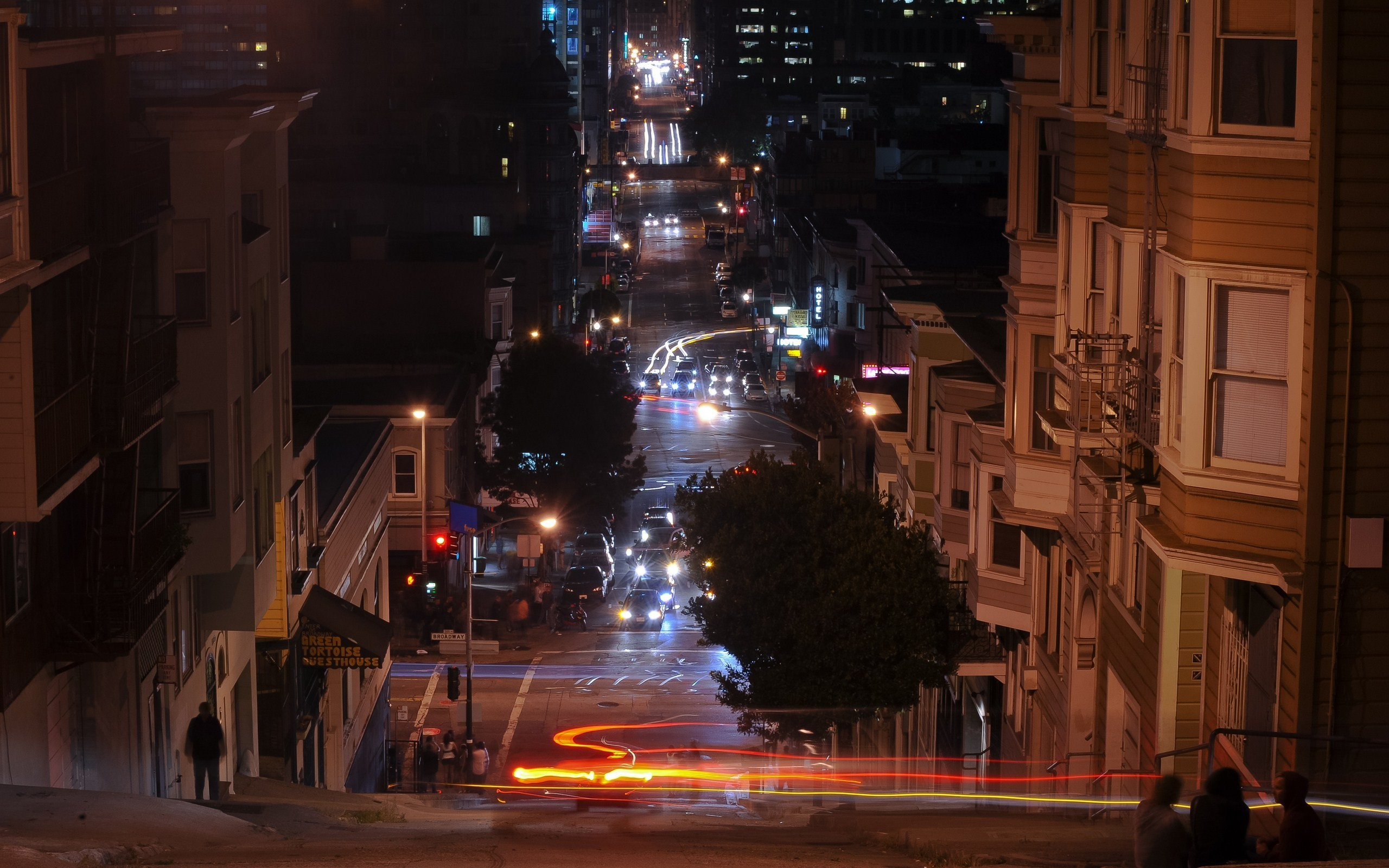 cityscapes streets San Francisco