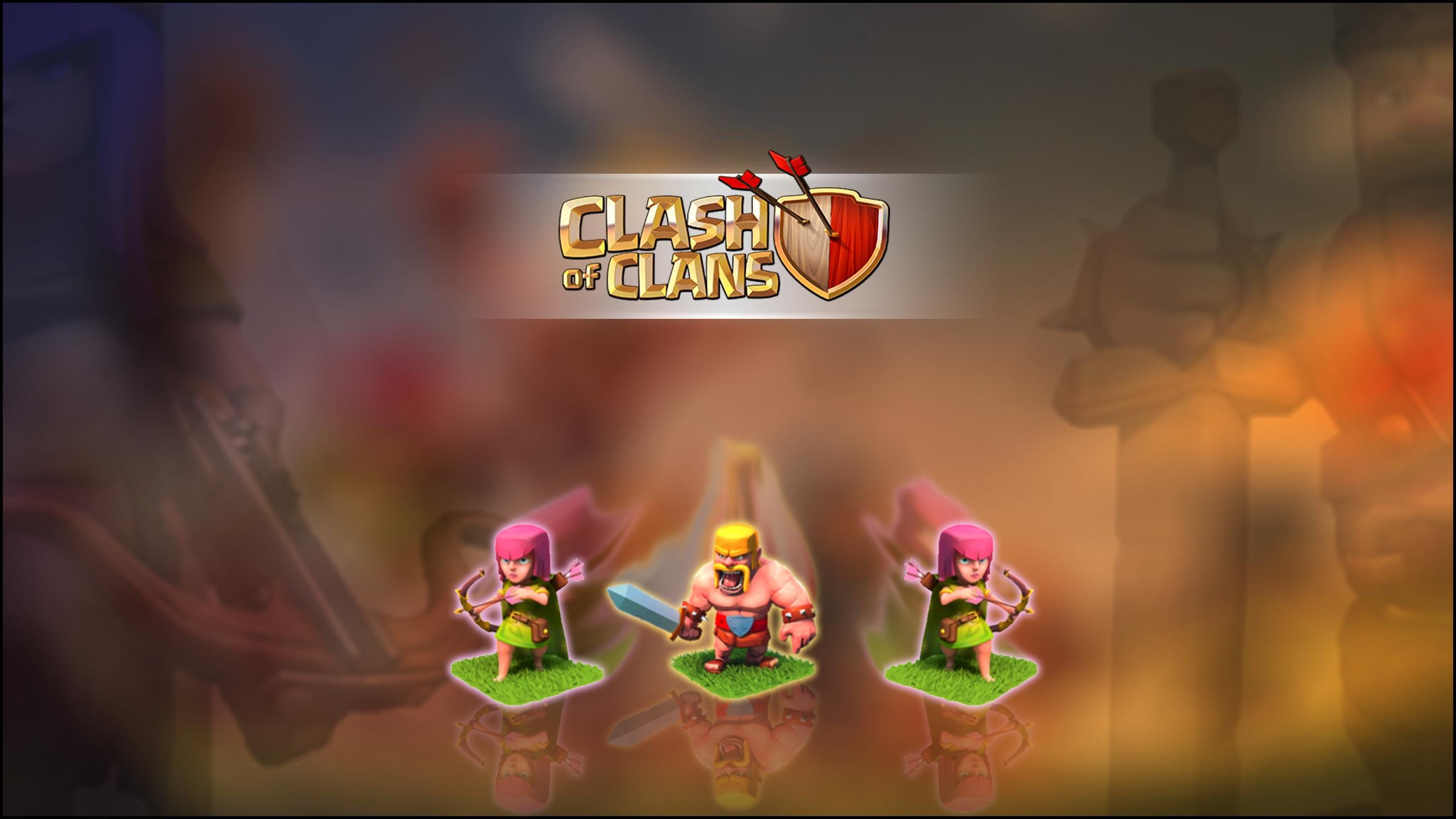 CLASH OF CLANS fantasy fighting family action adventure strategy 1clashclans warrior poster