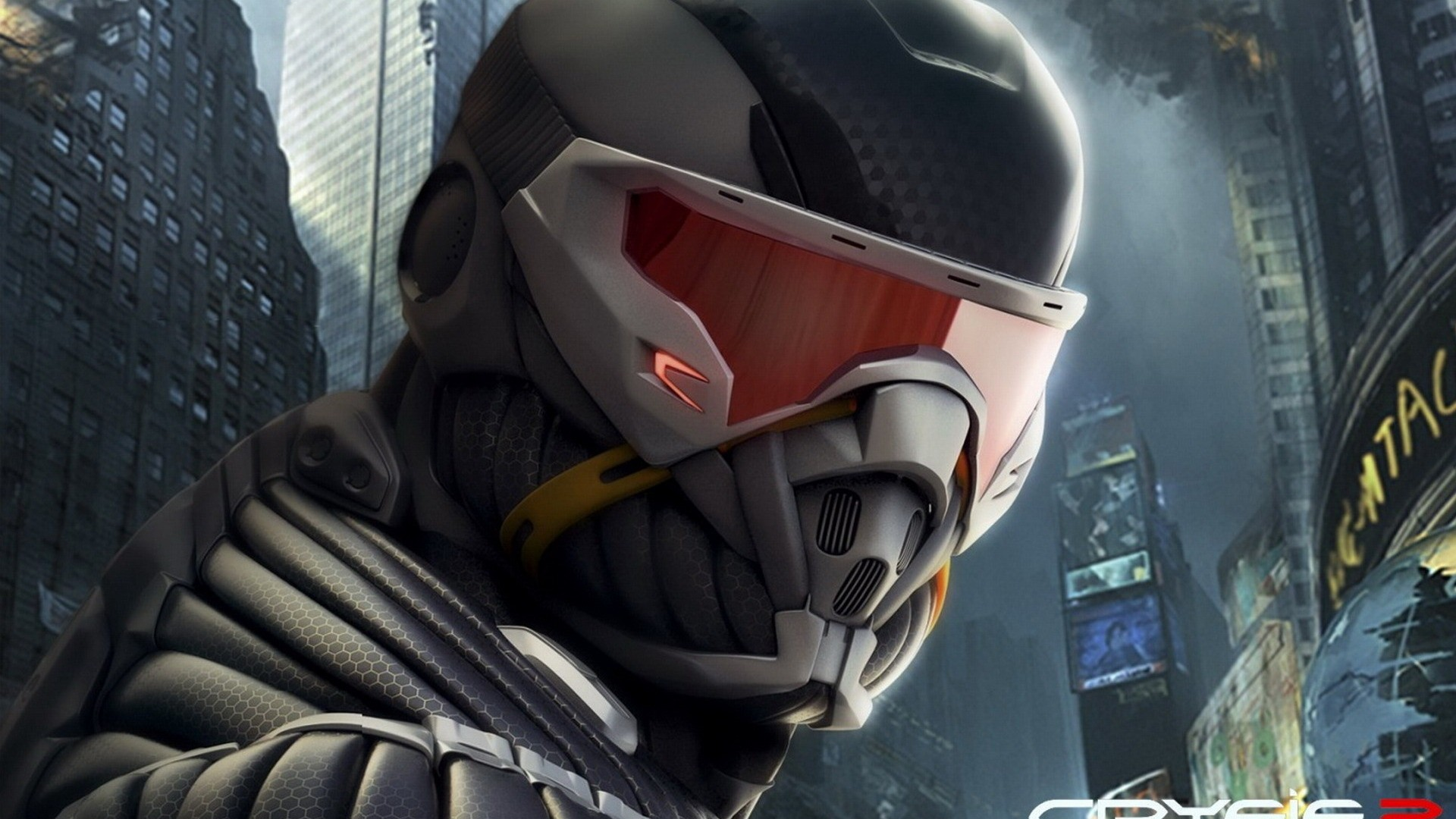 close-up video games Crysis