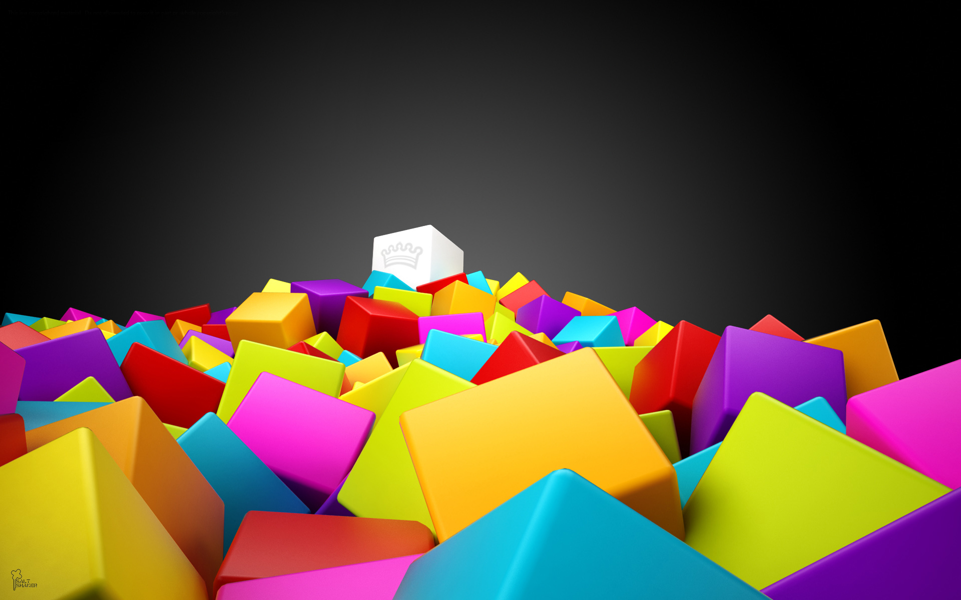 Colorful 3D Backgrounds