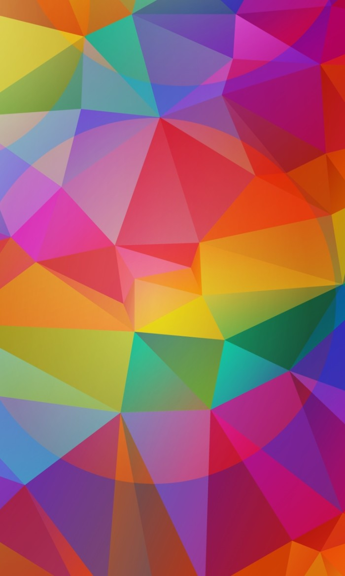 Colorful triangles