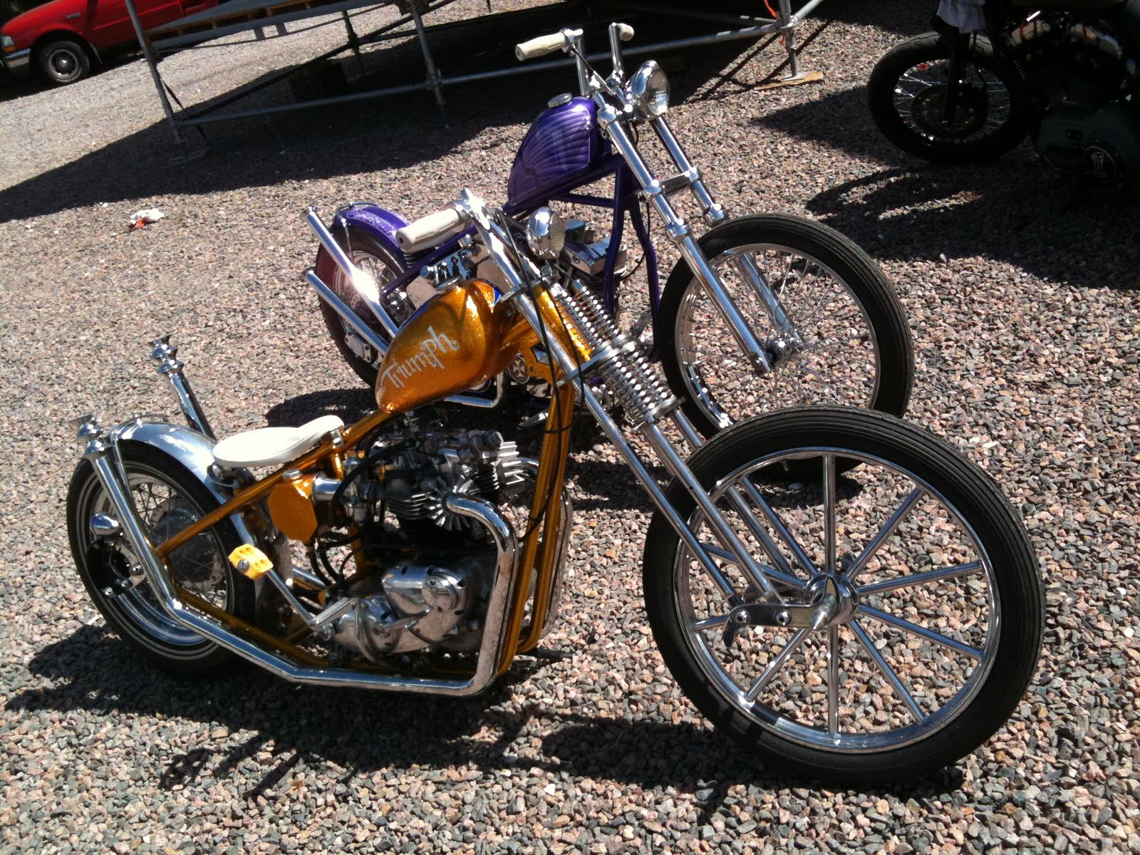 CUSTOM CHOPPER motorbike tuning bike hot rod rods f