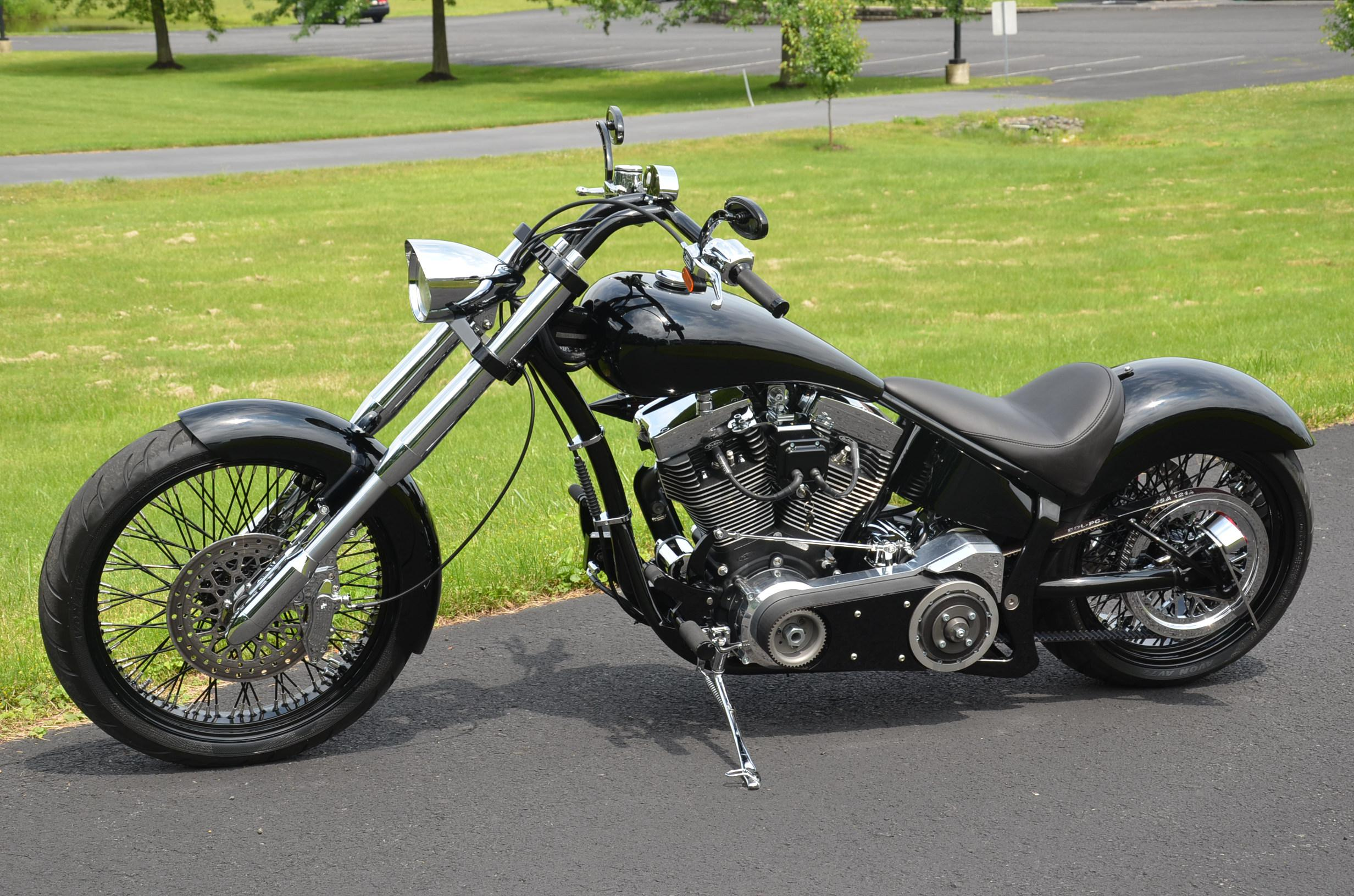 CUSTOM CHOPPER motorbike tuning bike hot rod rods  w