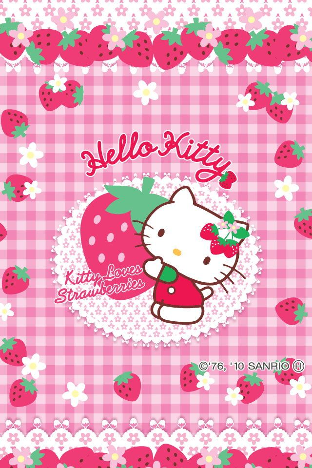 Cute Hello Kitty Wallpapers For iPhone