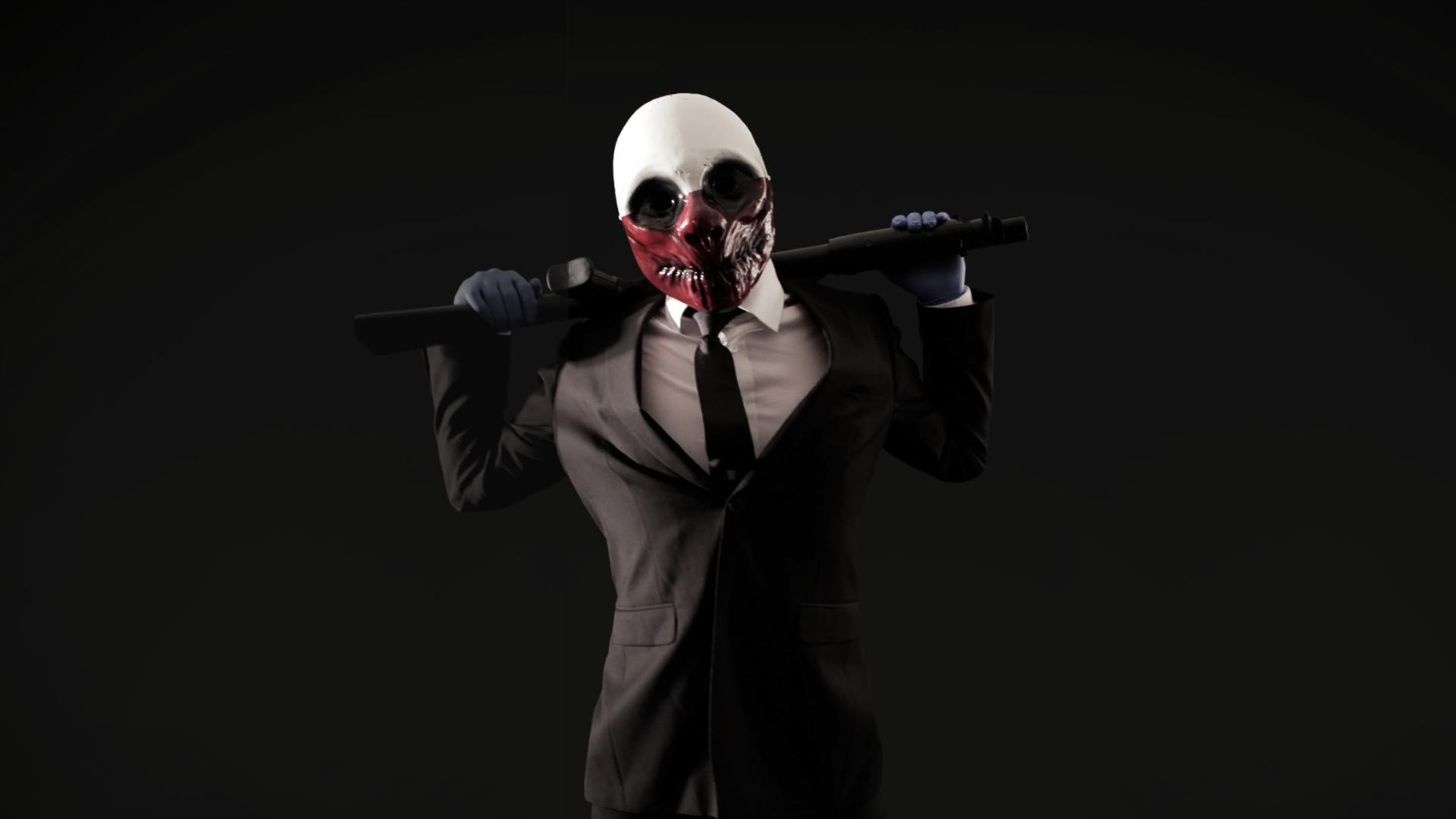 dark masks PayDay wolves Payday The Heist PayDay 2 the heist