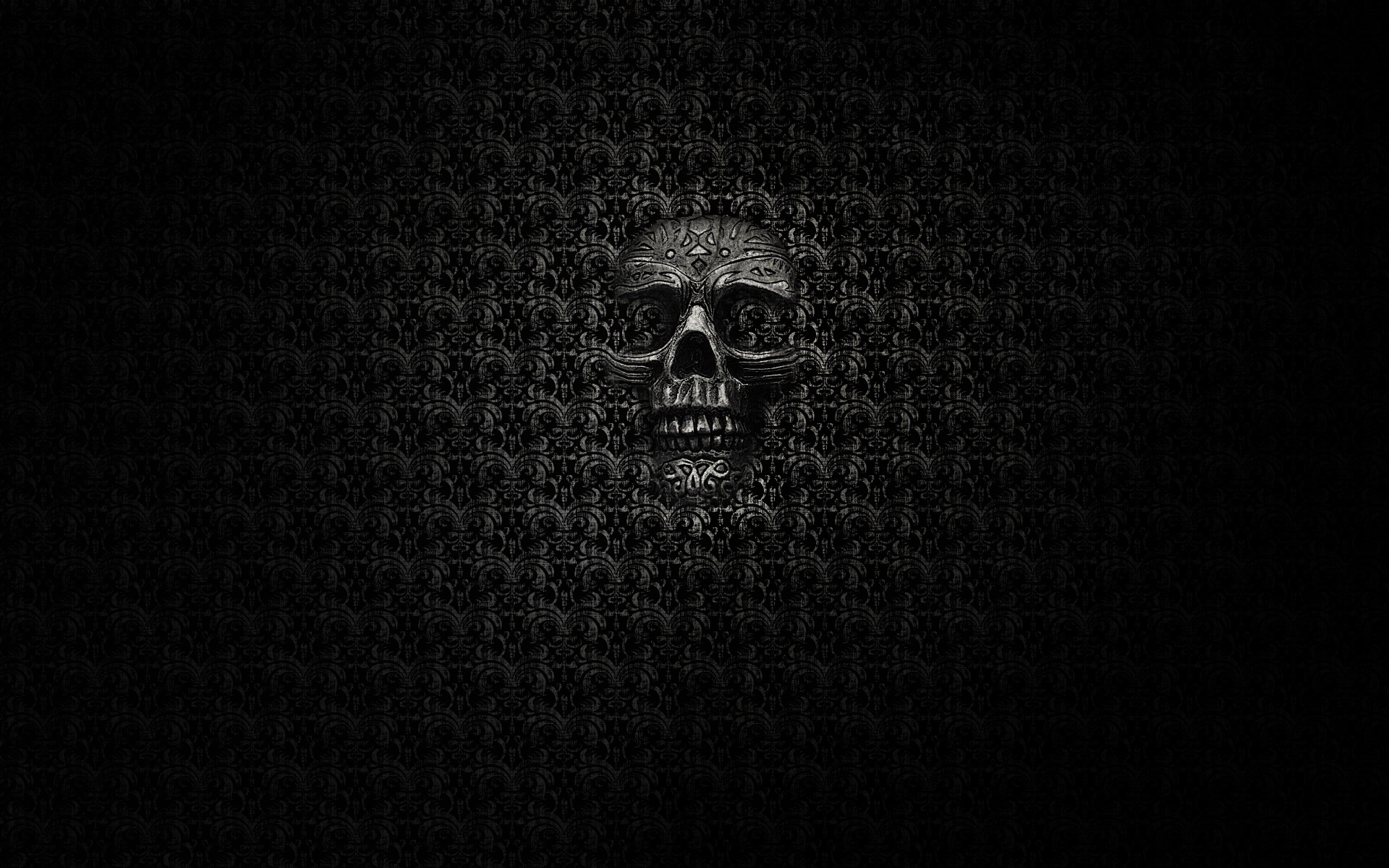 dark skull evil horror skulls art artwork skeleton d