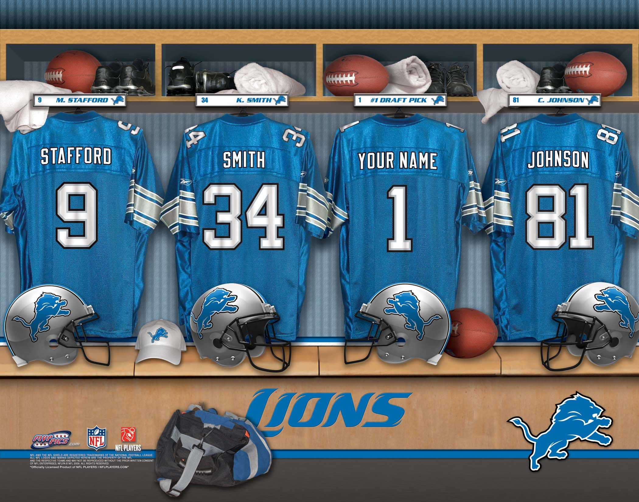 DETROIT LIONS nfl football    t