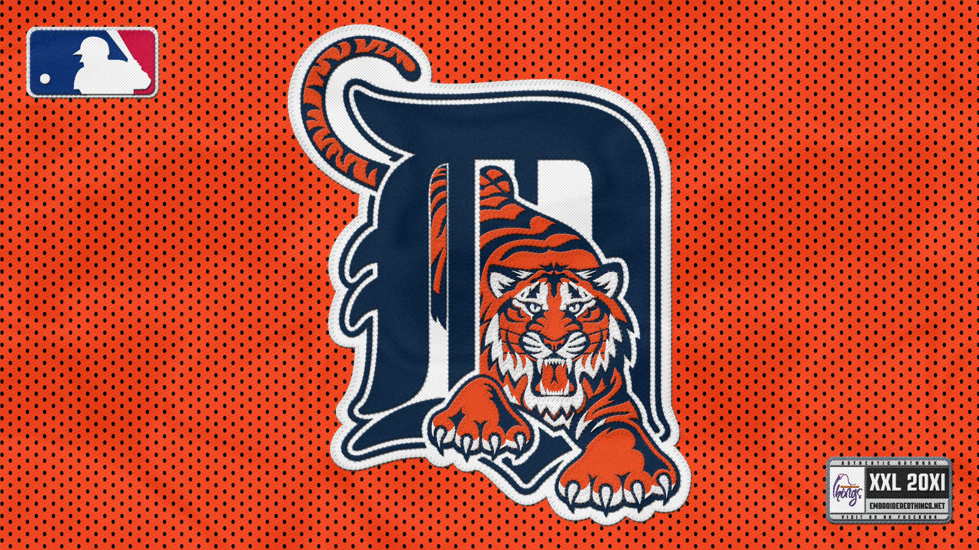 DETROIT TIGERS baseball mlb  rw