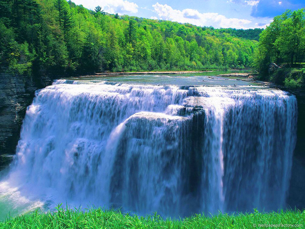 Enormous waterfall
