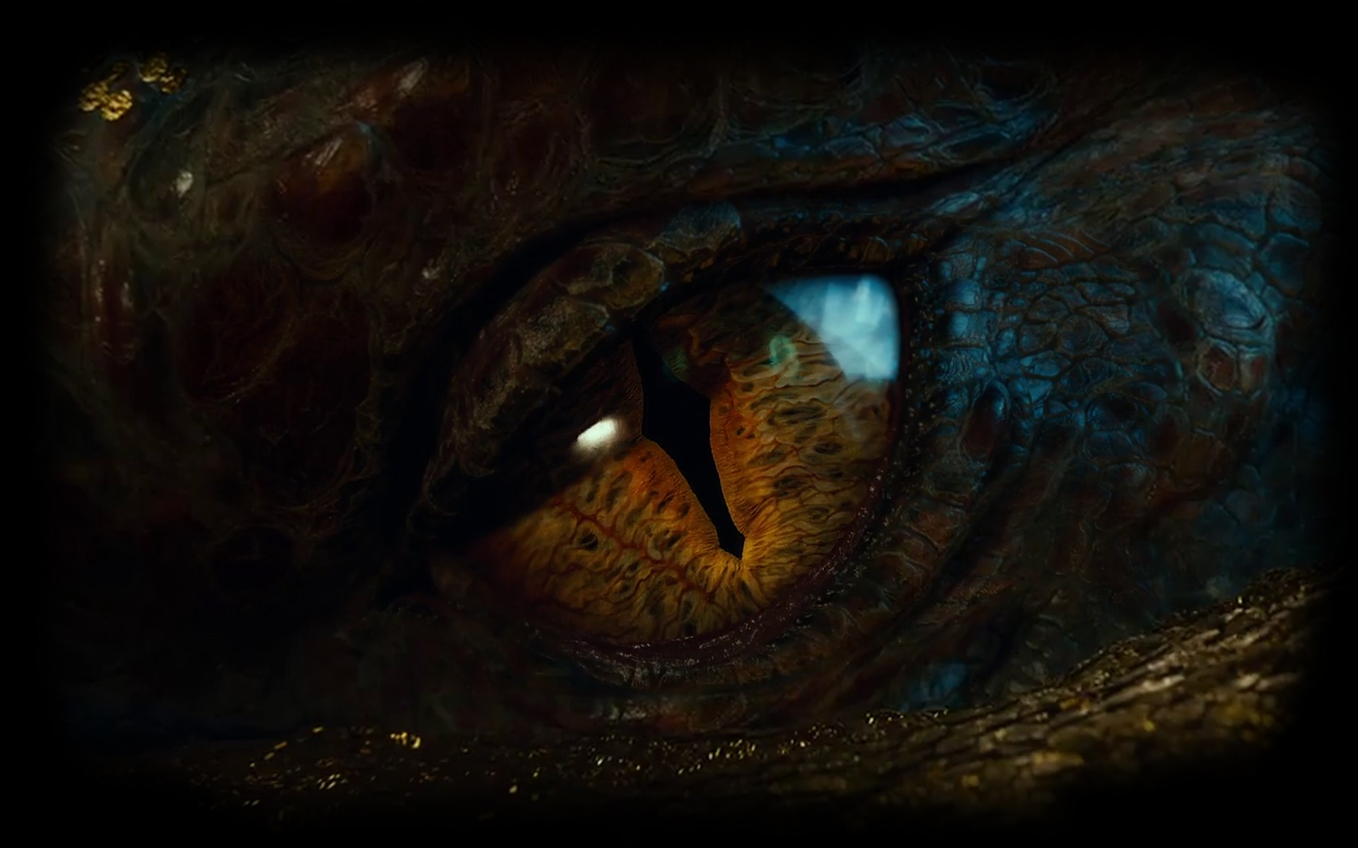 eyes dragons The Hobbit Smaug The Lord of the Rings: The Battle for Middle-earth II