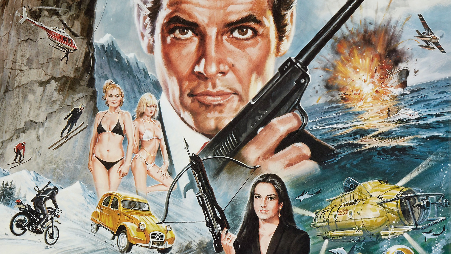 FOR YOUR EYES ONLY james bond 007 f