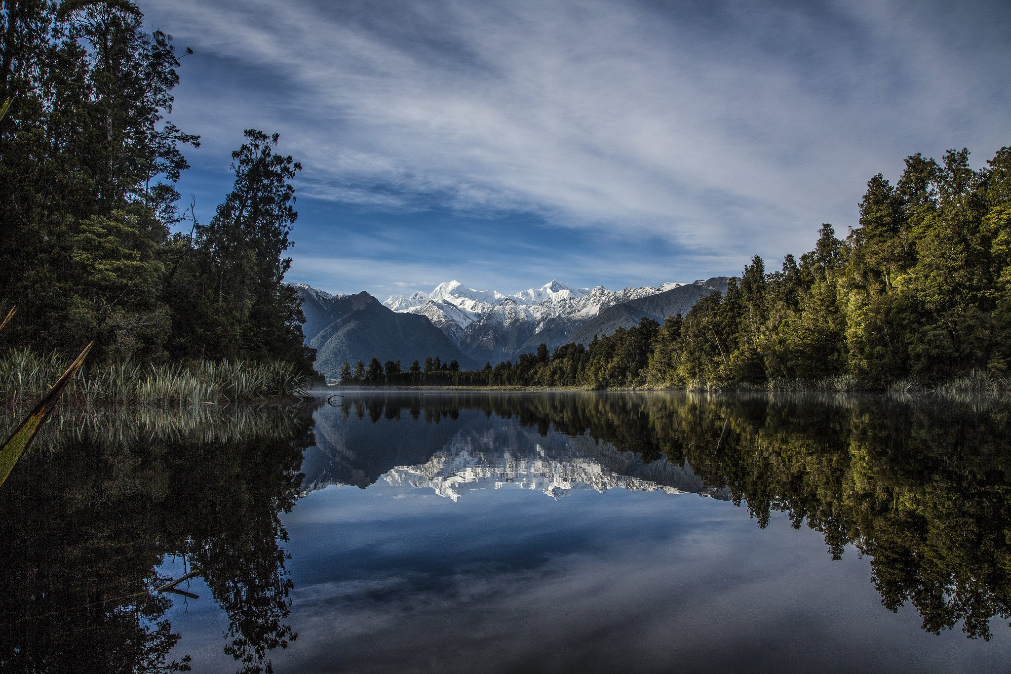 forests lakes mountains reflection nature landscapes water Trees wallpaper forests sky rock