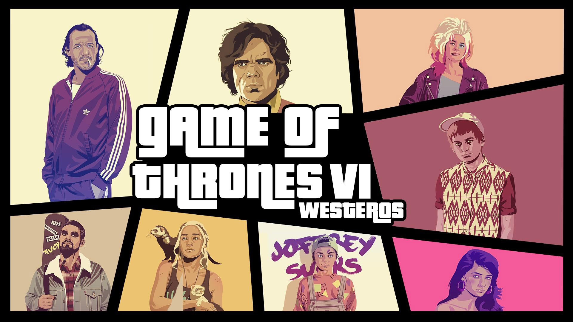 Game of Thrones GTA crossover