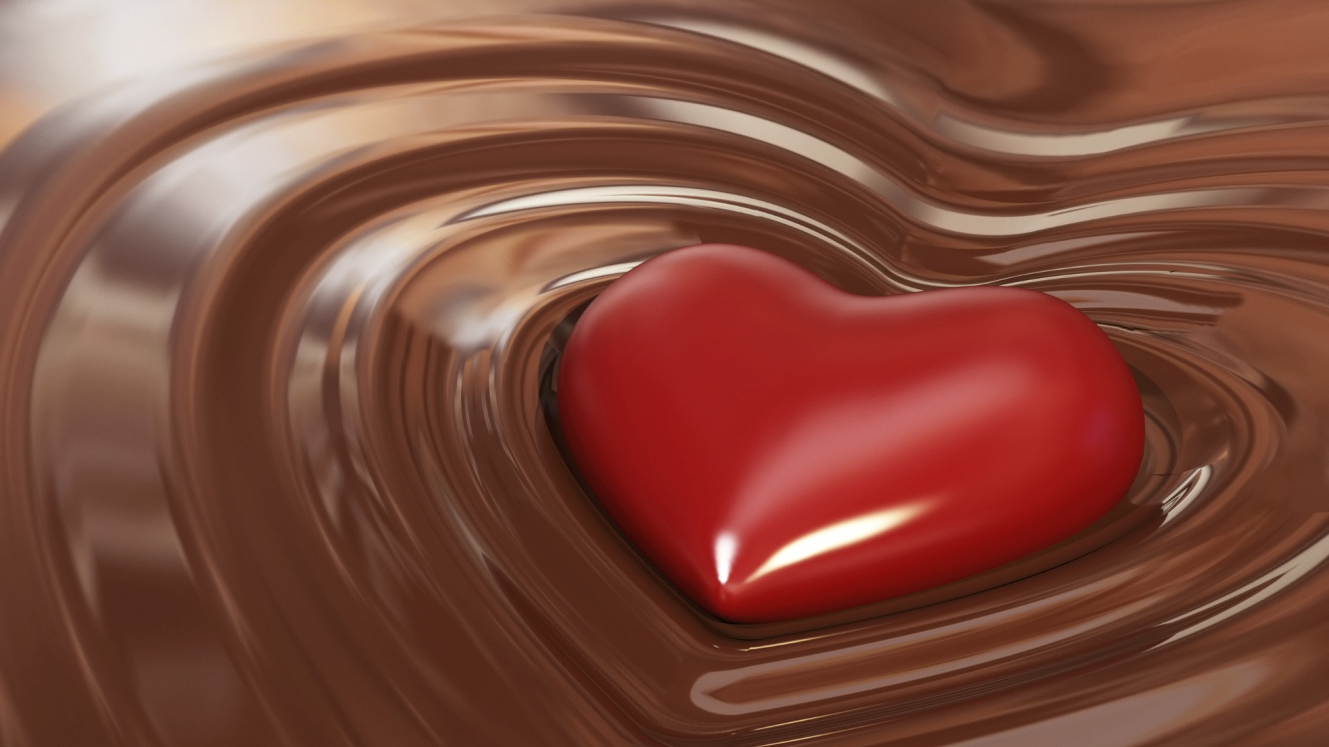 Heart in Chocolate