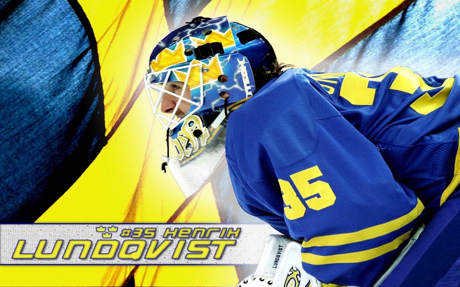 hockey Henrik Lundqvist Swedish Hockey