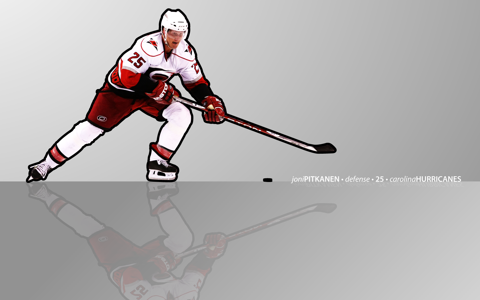 hockey Joni Pitkanen Carolina Hurricanes