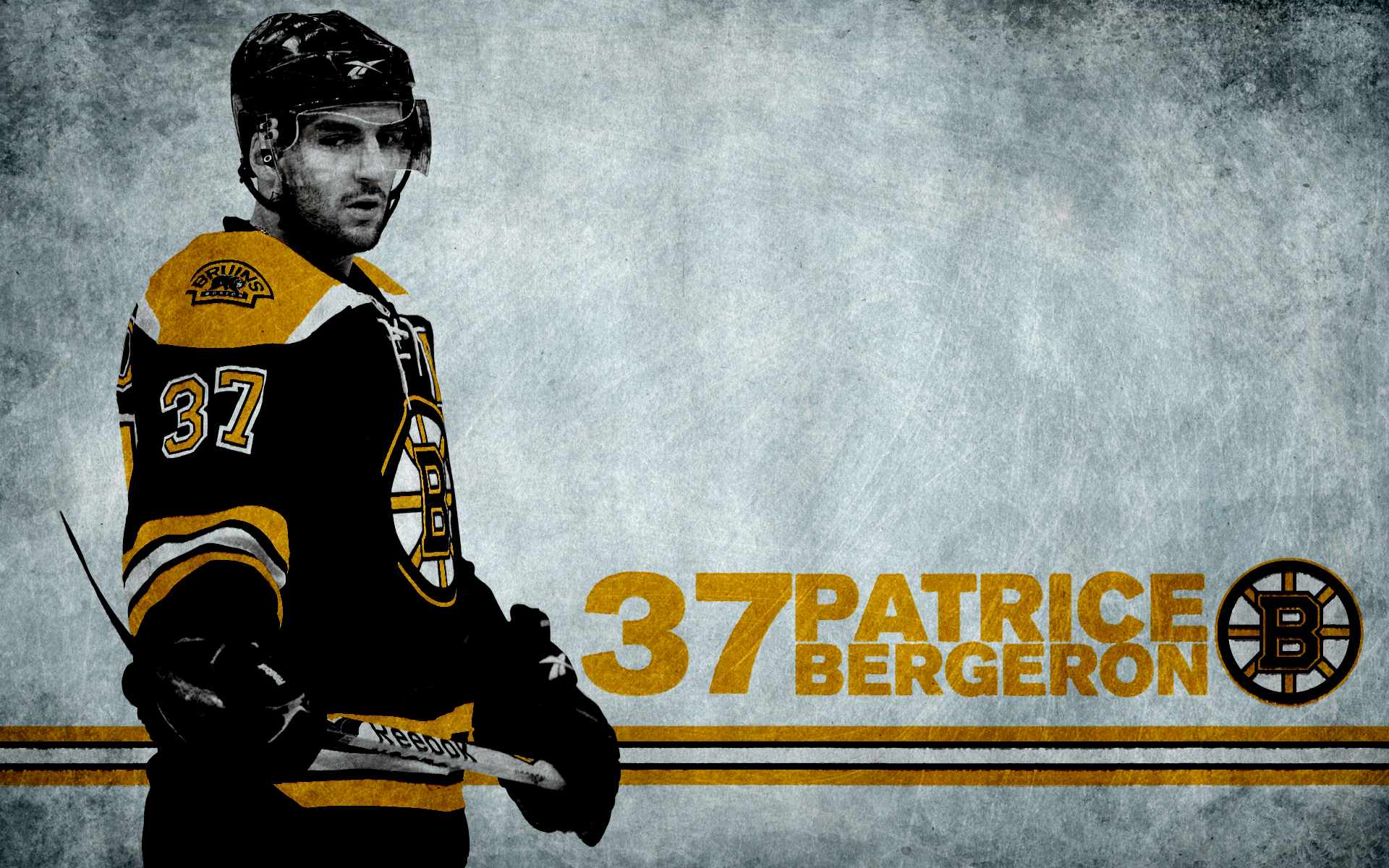 hockey Patrice Bergeron Boston Bruins