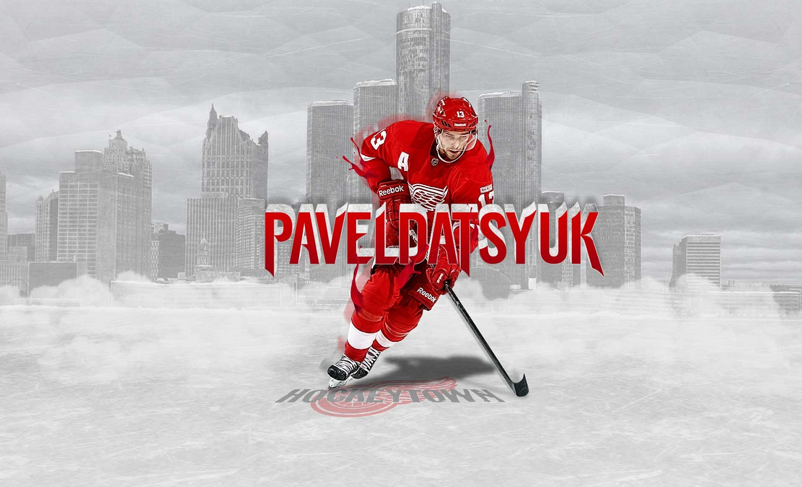 hockey Pavel Datsyuk Detroit Red Wings
